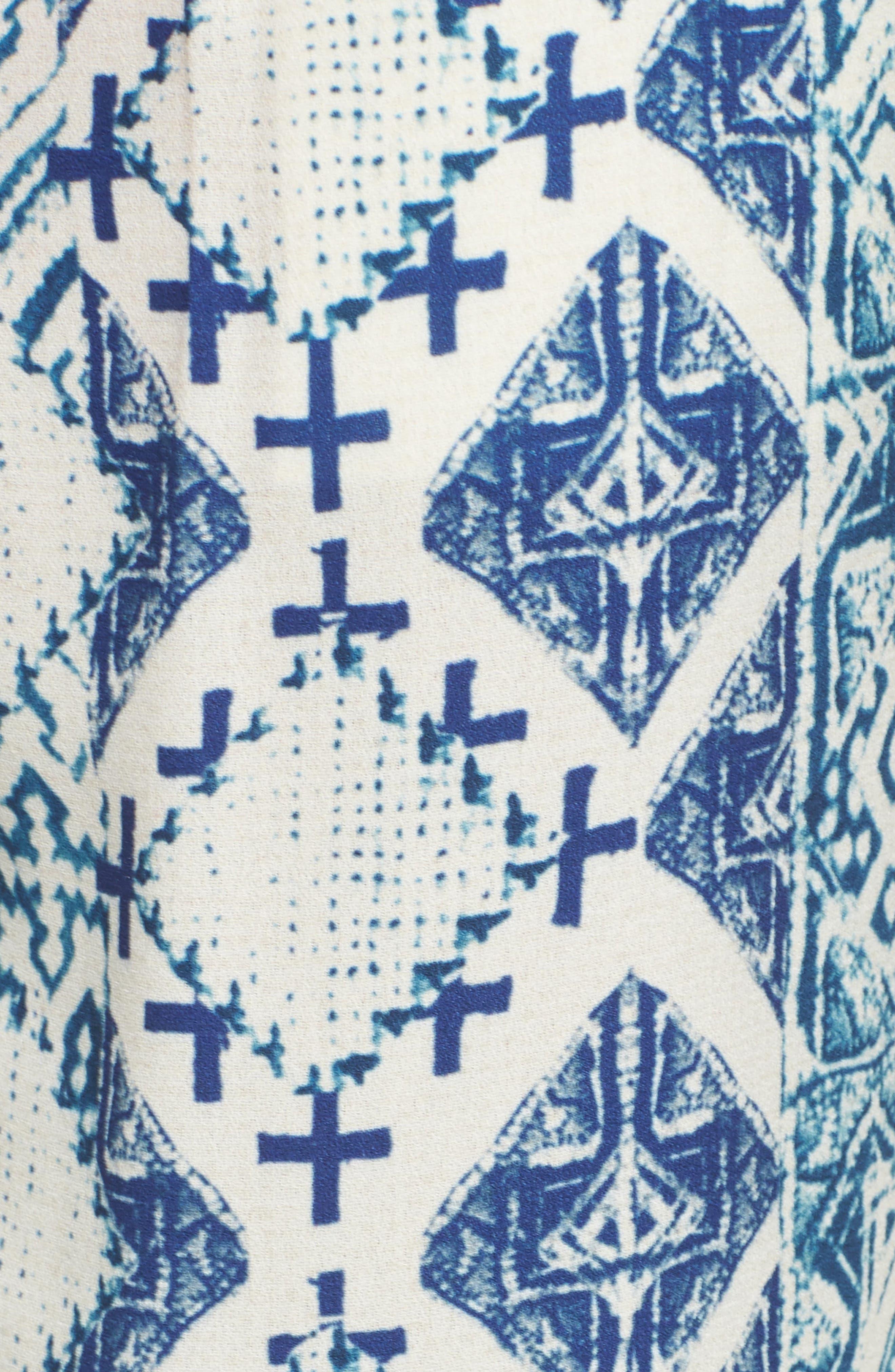 Hemant & Nandita Tasseled Cover-Up Pants,                             Alternate thumbnail 5, color,                             405