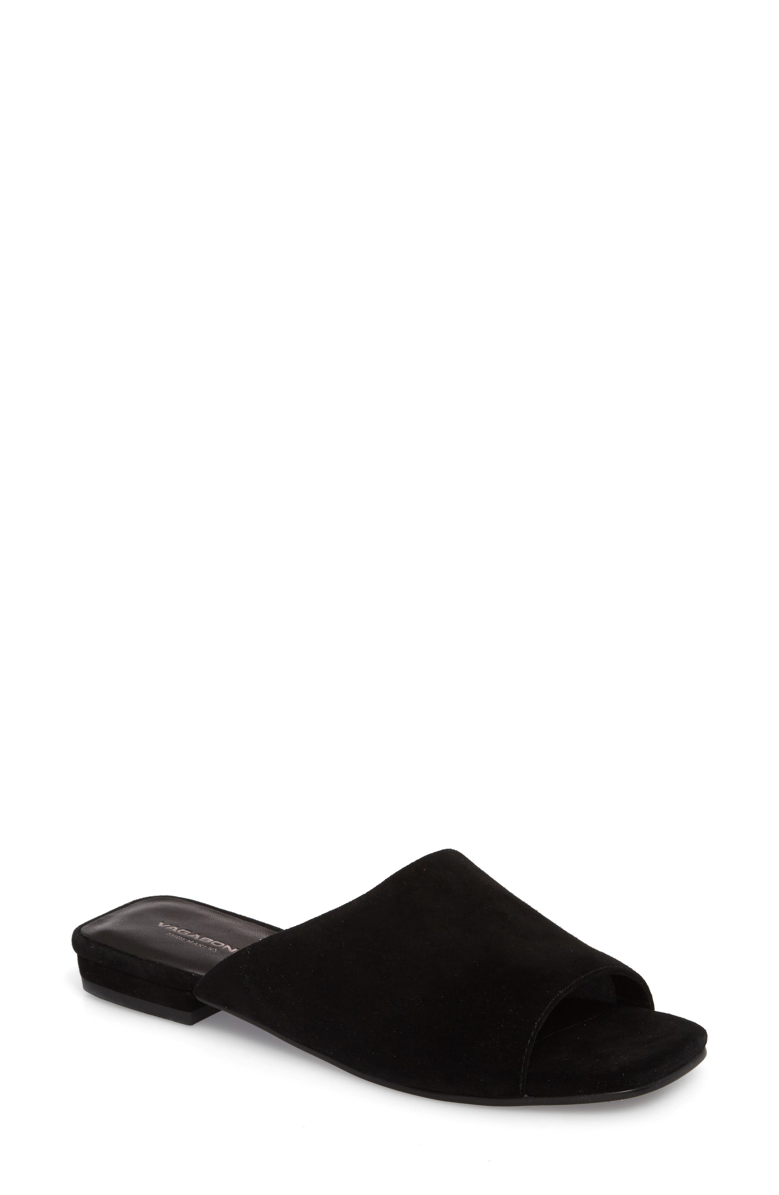 VAGABOND,                             Shoemakers Becky Slide Sandal,                             Main thumbnail 1, color,                             002