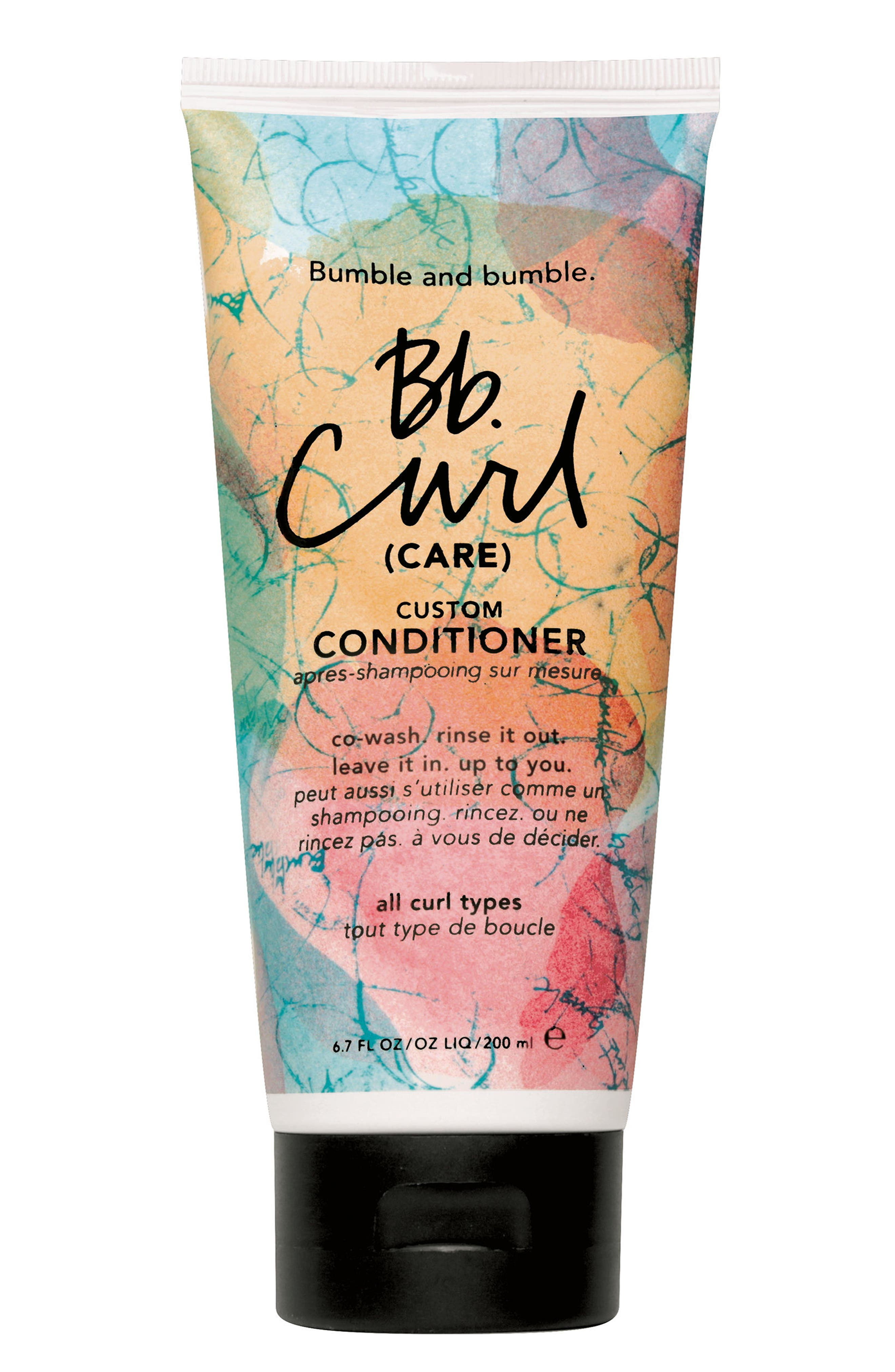 Curl Custom Conditioner,                             Main thumbnail 1, color,                             NO COLOR