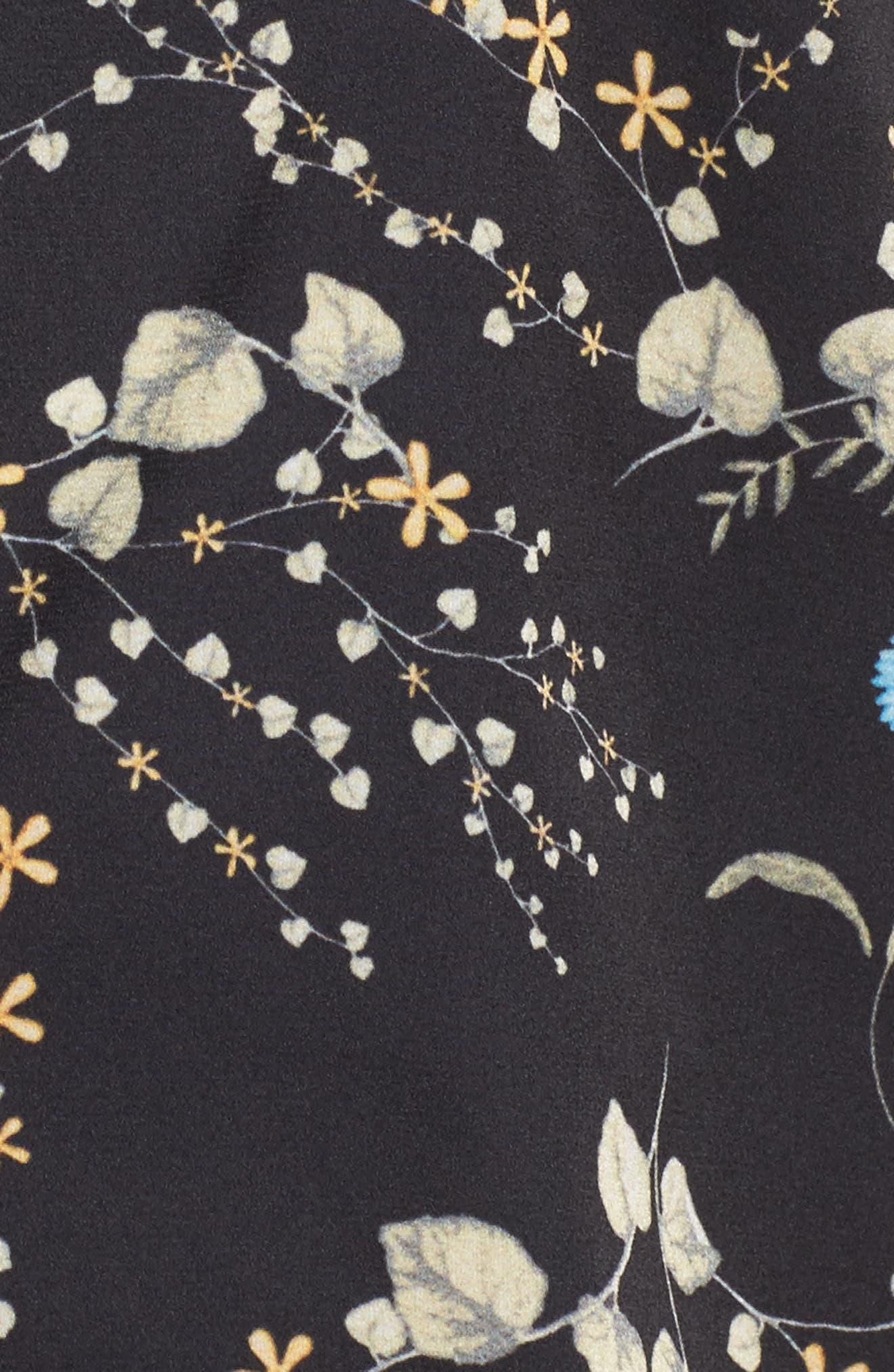 Botanical Crop Pajamas,                             Alternate thumbnail 5, color,                             001
