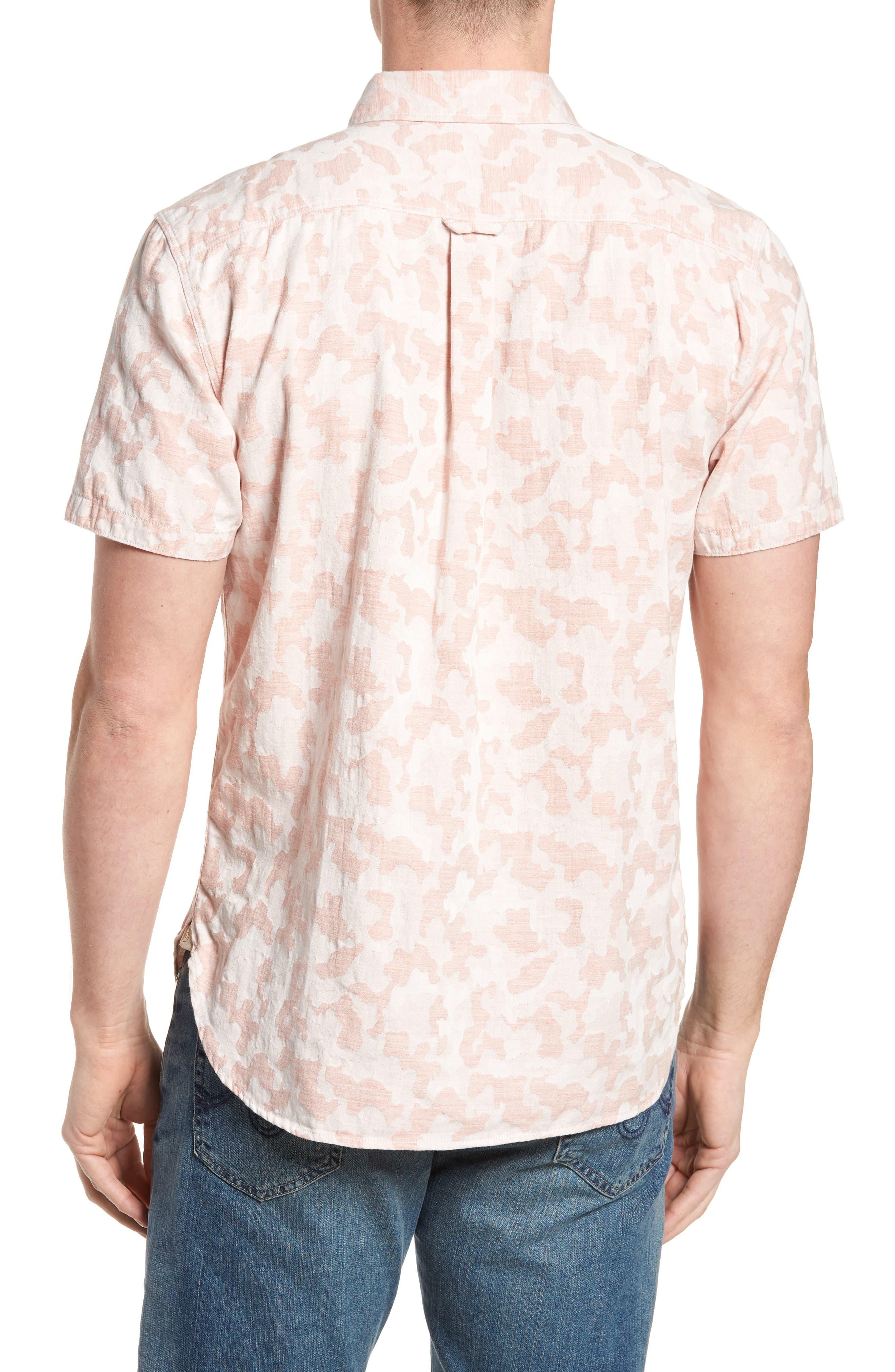 Truman Slim Fit Short Sleeve Sport Shirt,                             Alternate thumbnail 2, color,                             650