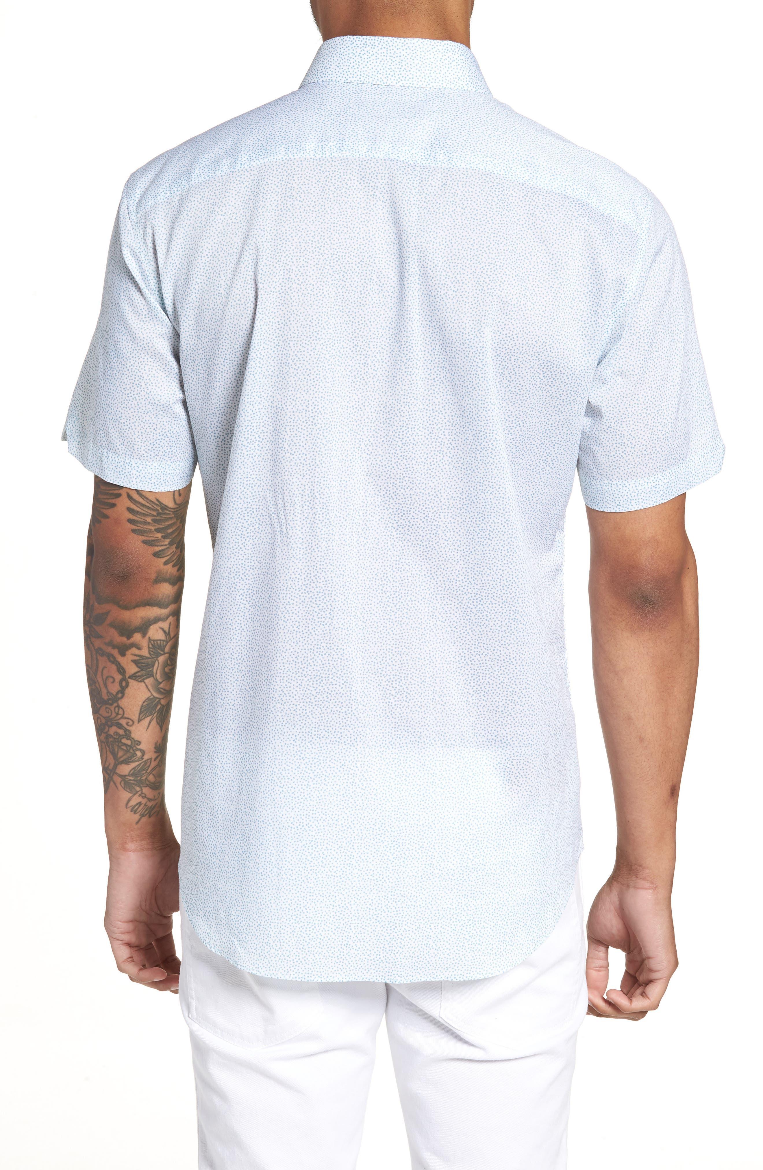 Fung Regular Fit Sport Shirt,                             Alternate thumbnail 2, color,                             WHITE