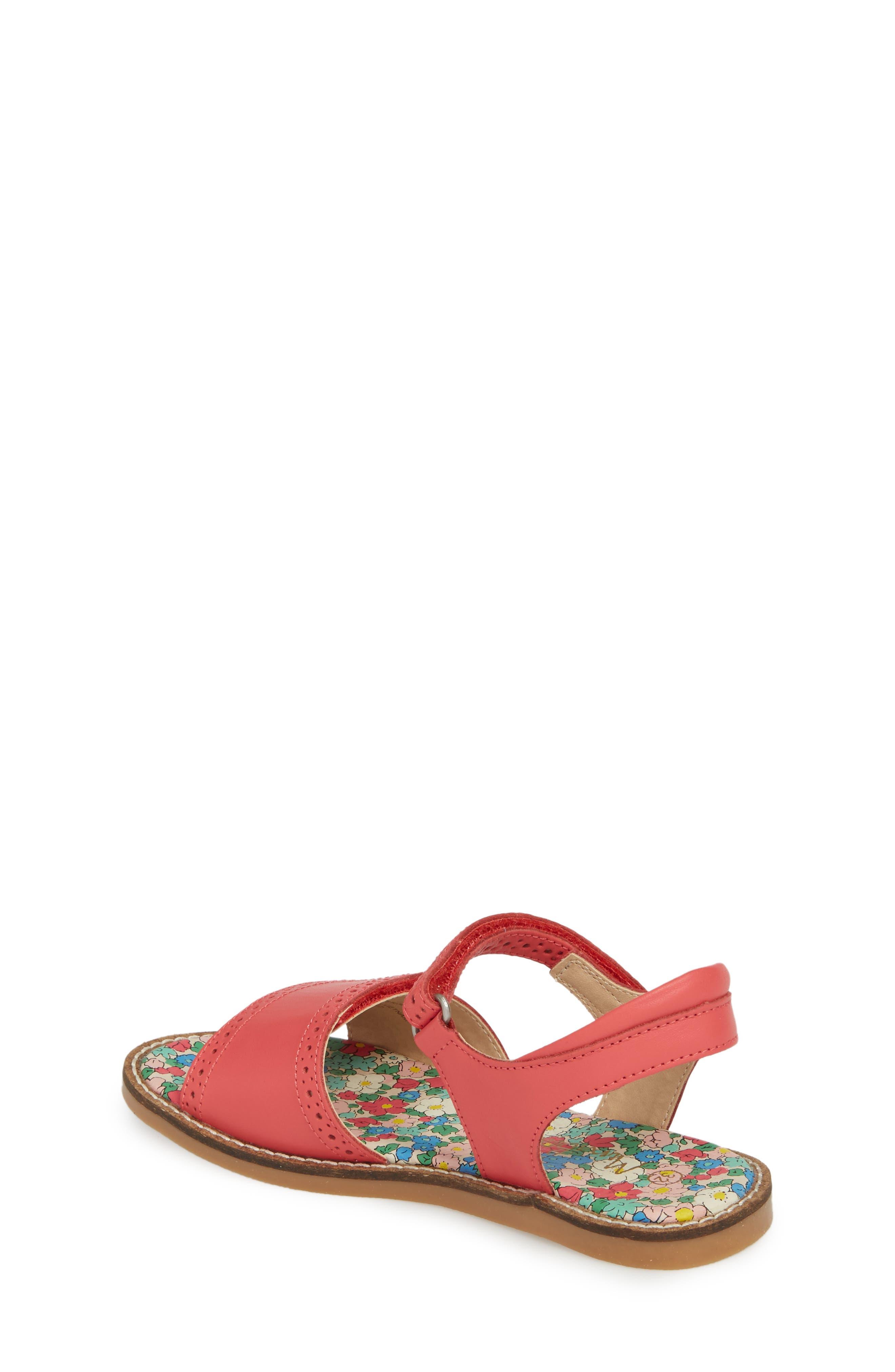 Adjustable Quarter Strap Sandal,                             Alternate thumbnail 4, color,