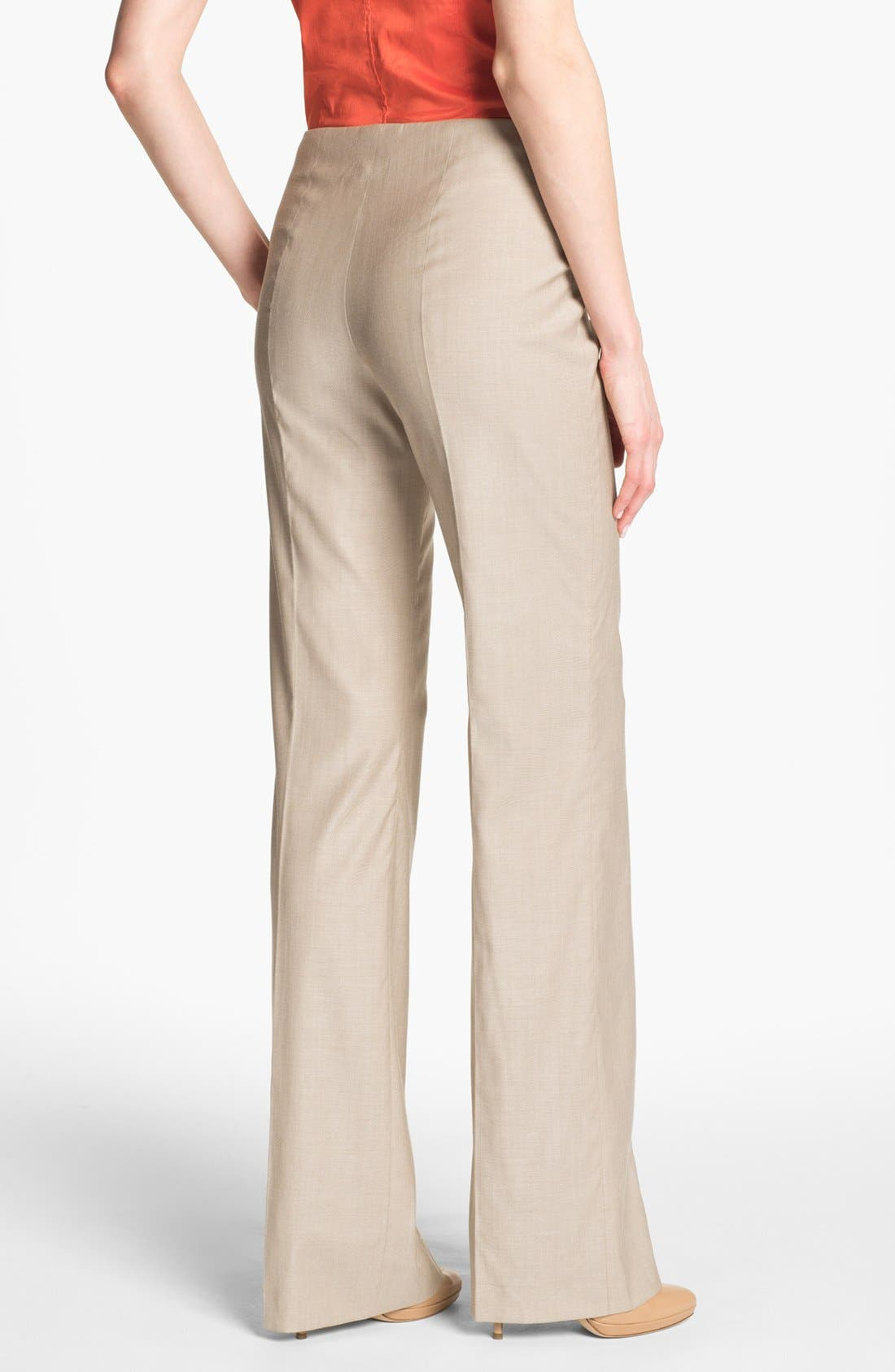 HUGO BOSS 'Tilana' Trousers,                             Alternate thumbnail 6, color,                             294
