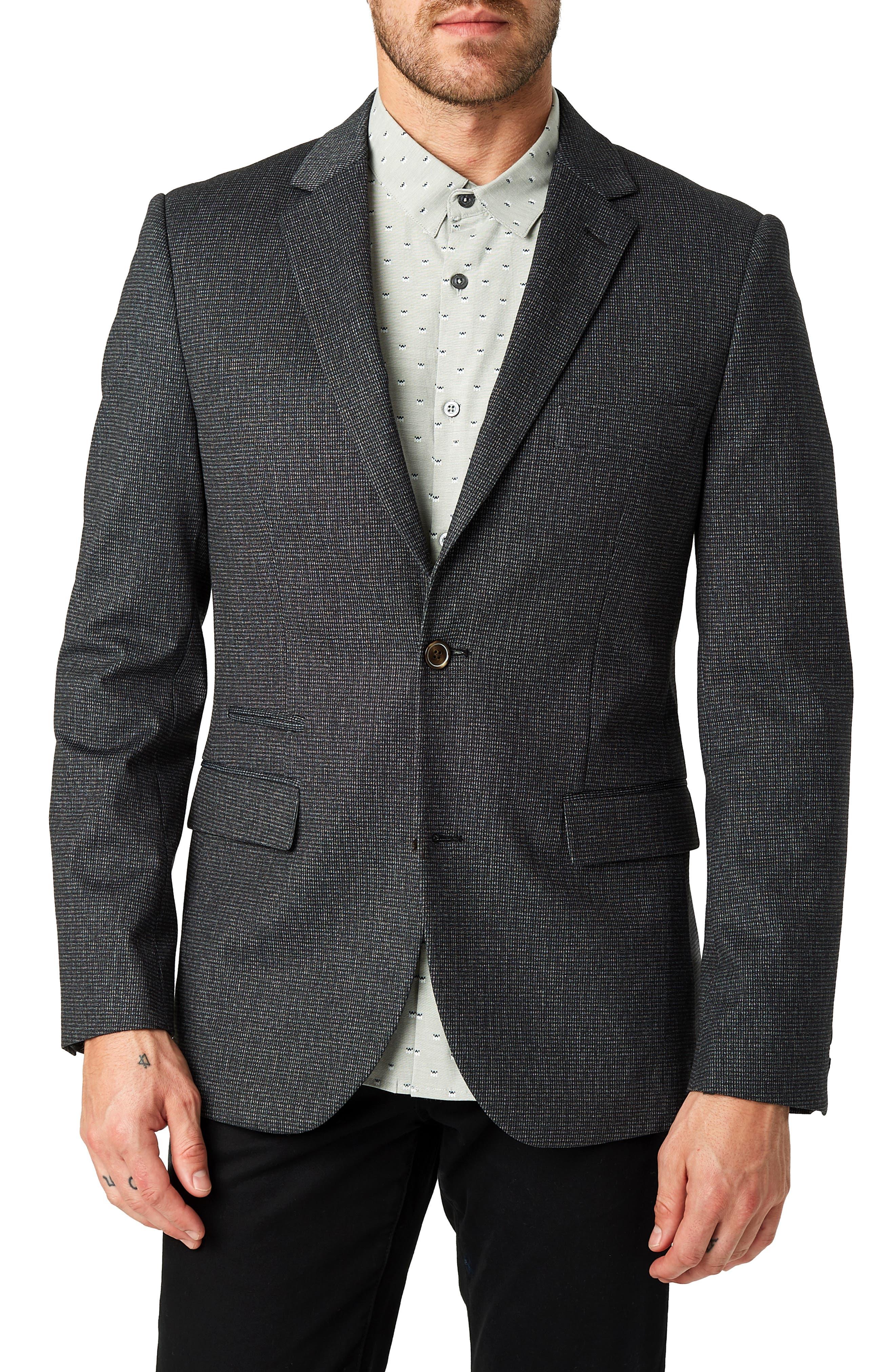 Tasman Trim Fit Sport Coat, Main, color, 020