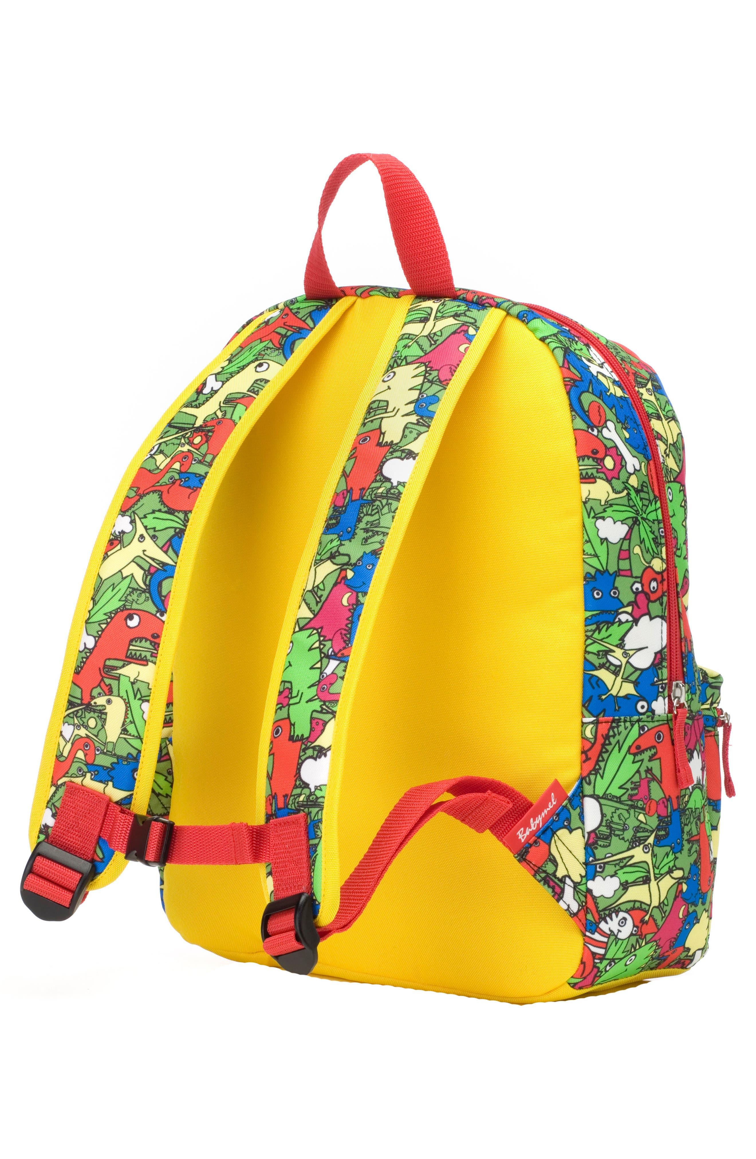 Zip & Zoe Dino Junior Backpack,                             Alternate thumbnail 2, color,                             DINO