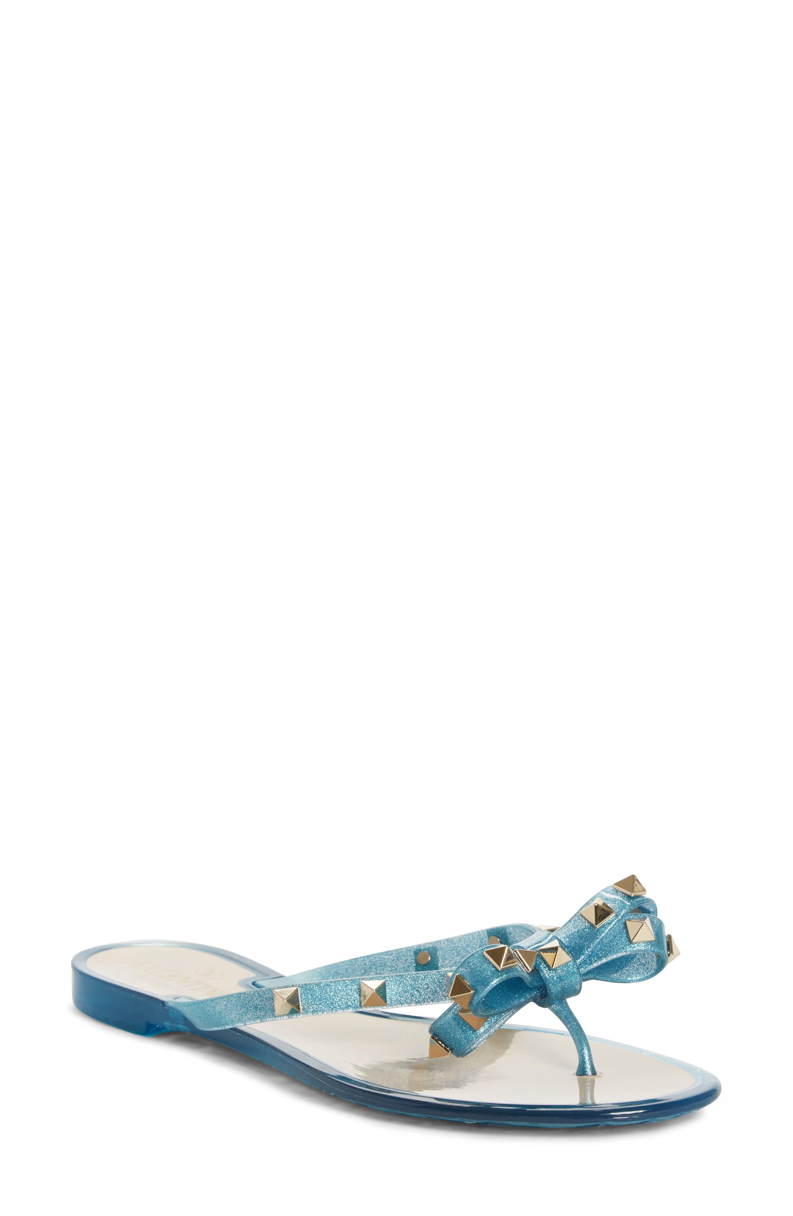 'Rockstud' Flip Flop,                         Main,                         color, 401