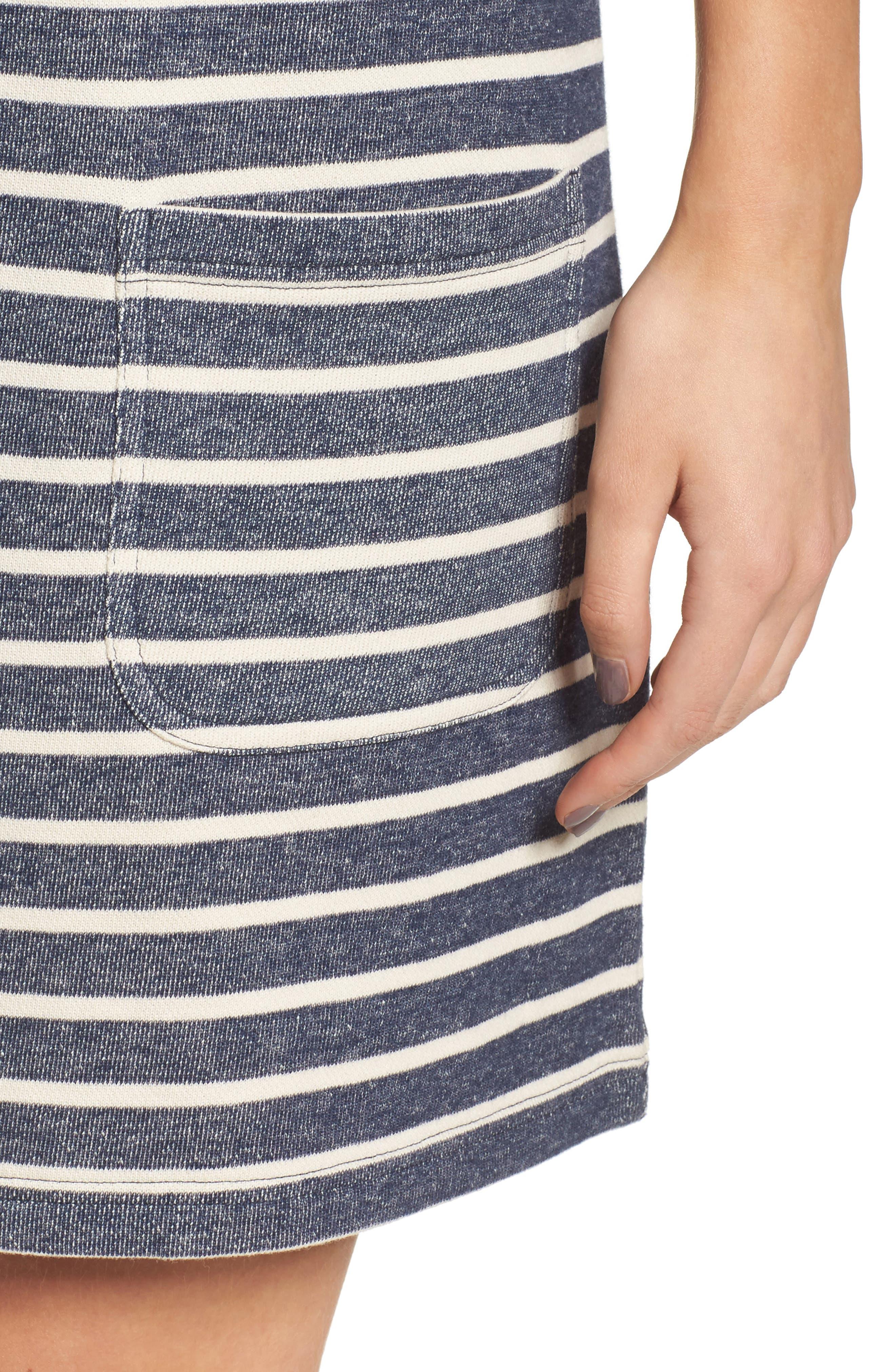 Normandy Stripe Dress,                             Alternate thumbnail 7, color,