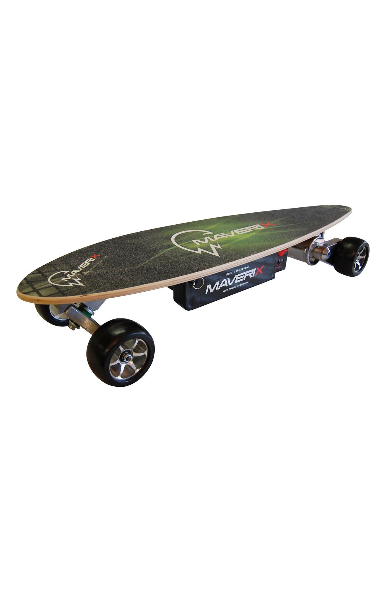 Urban Spirit 400-Watt Electric Skateboard,                             Main thumbnail 1, color,                             GREEN