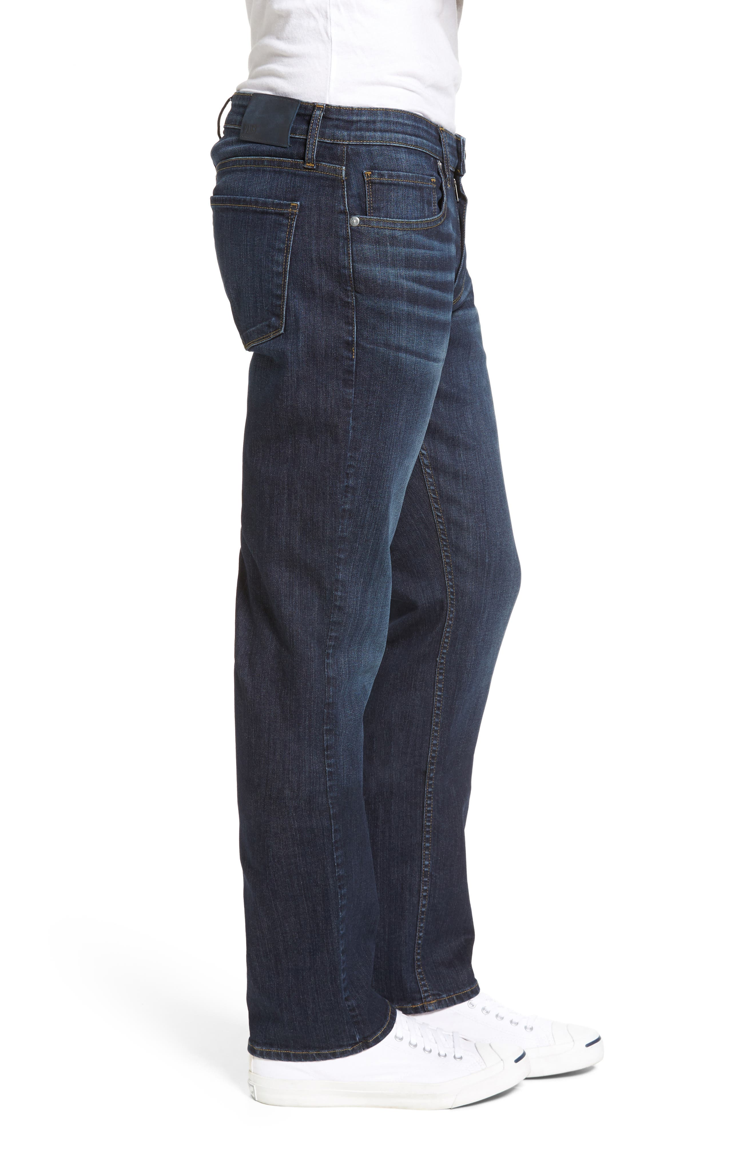 Legacy - Normandie Straight Fit Jeans,                             Alternate thumbnail 3, color,                             400