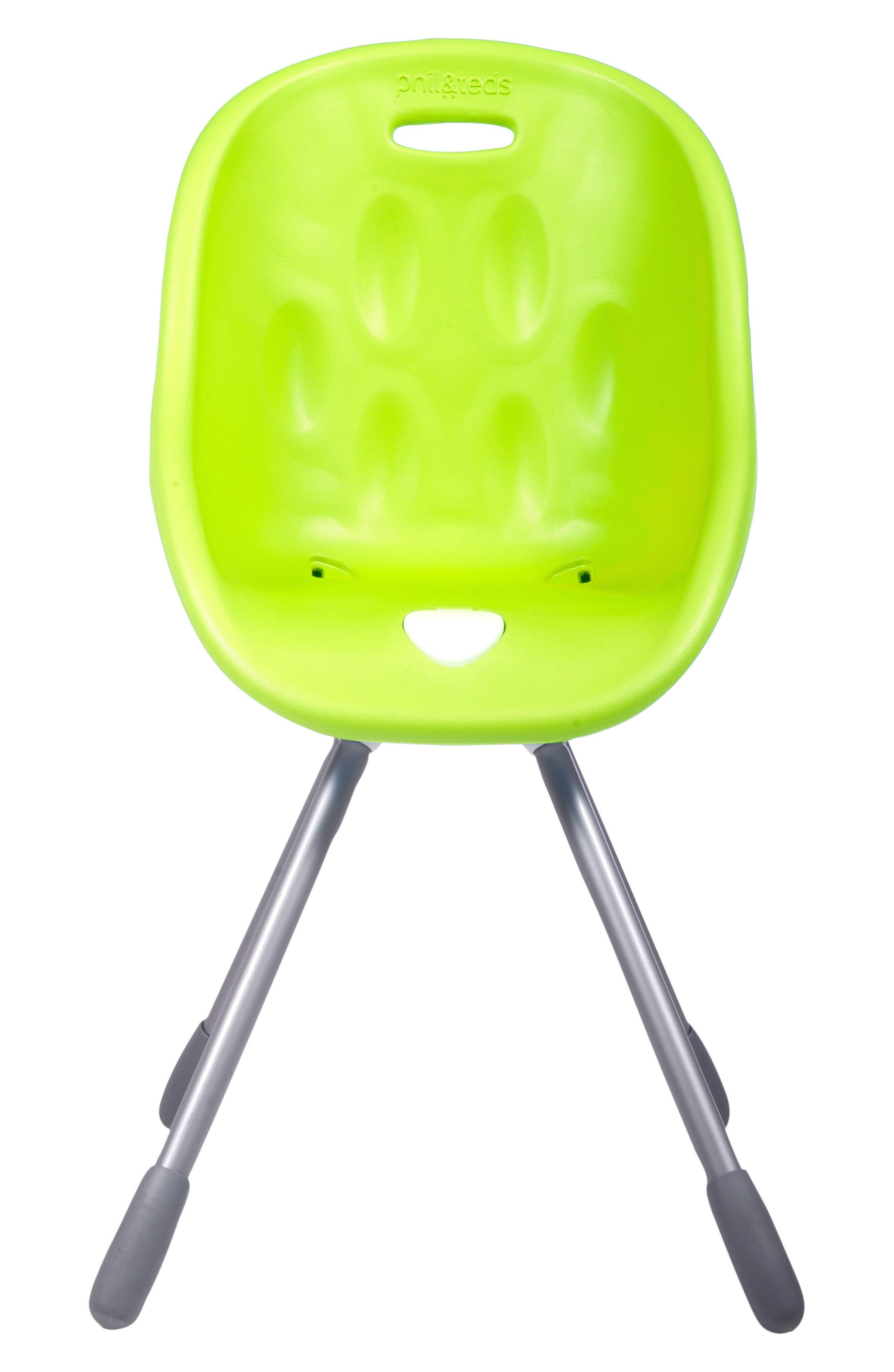 Poppy High Chair,                             Main thumbnail 1, color,                             LIME