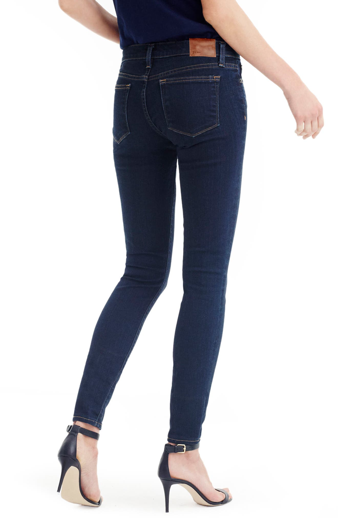 Toothpick Crop Skinny Jeans,                             Alternate thumbnail 2, color,
