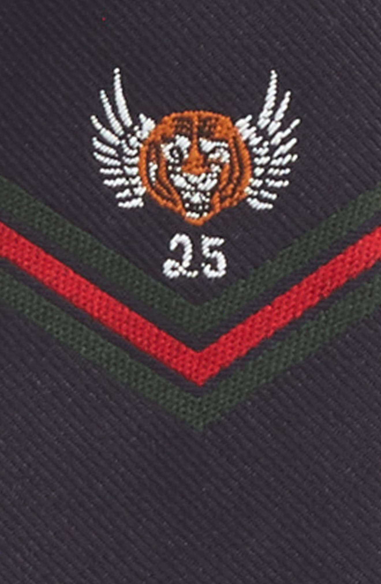 Tiger Wings Silk Tie,                             Alternate thumbnail 2, color,                             403