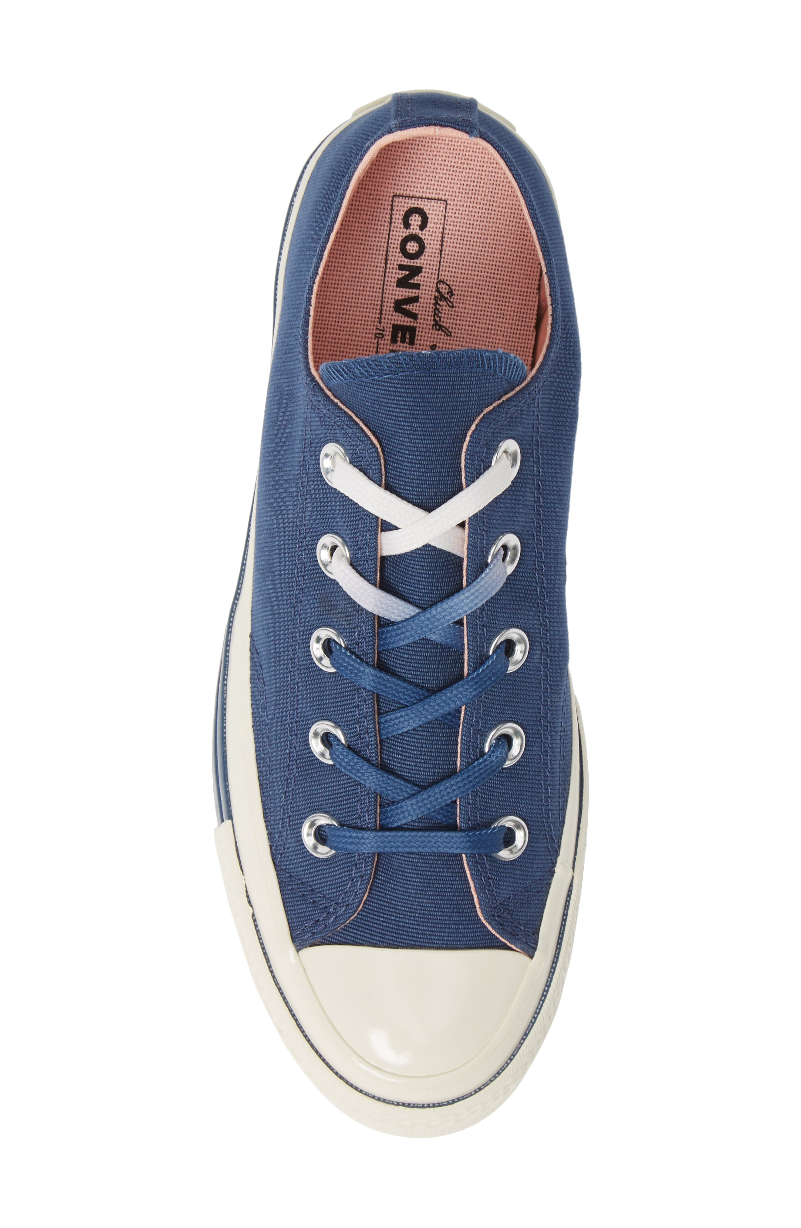 Chuck Taylor<sup>®</sup> All Star<sup>®</sup> 70 Colorblock Low Top Sneaker,                             Alternate thumbnail 5, color,                             MASON BLUE