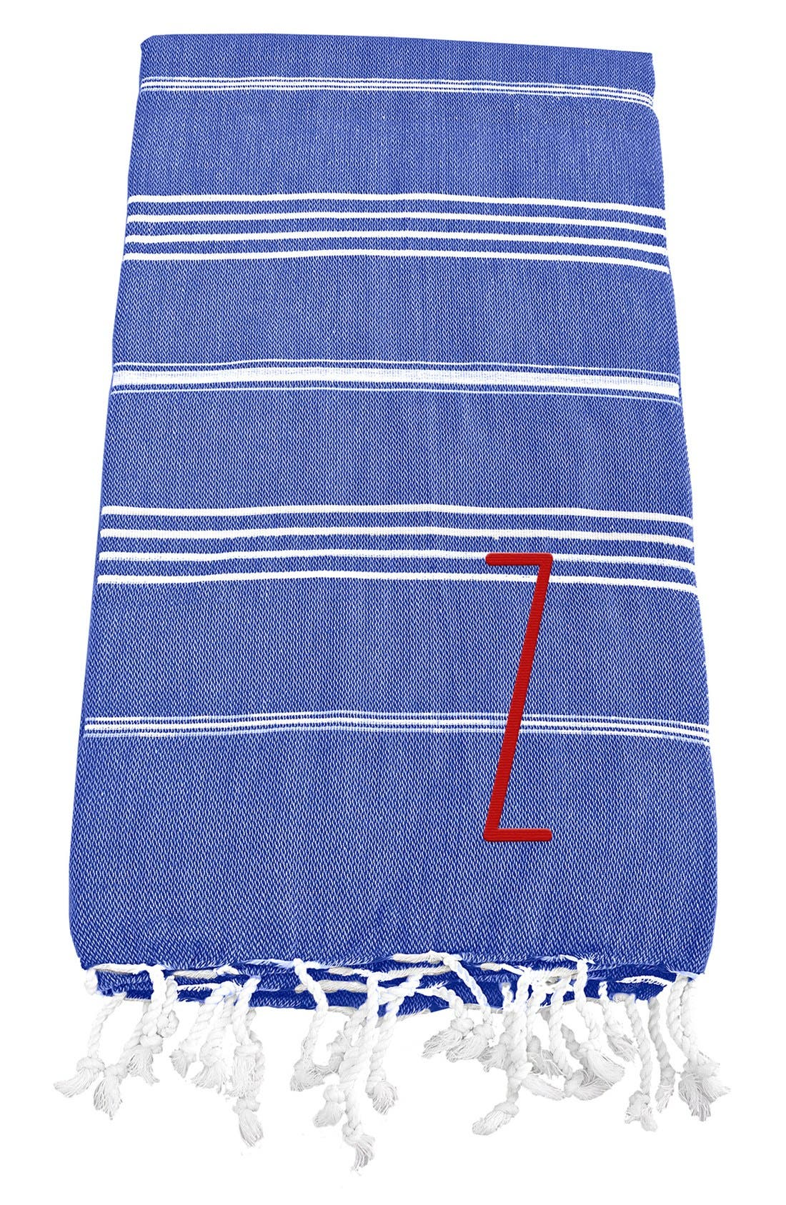 Monogram Turkish Cotton Towel,                             Main thumbnail 82, color,
