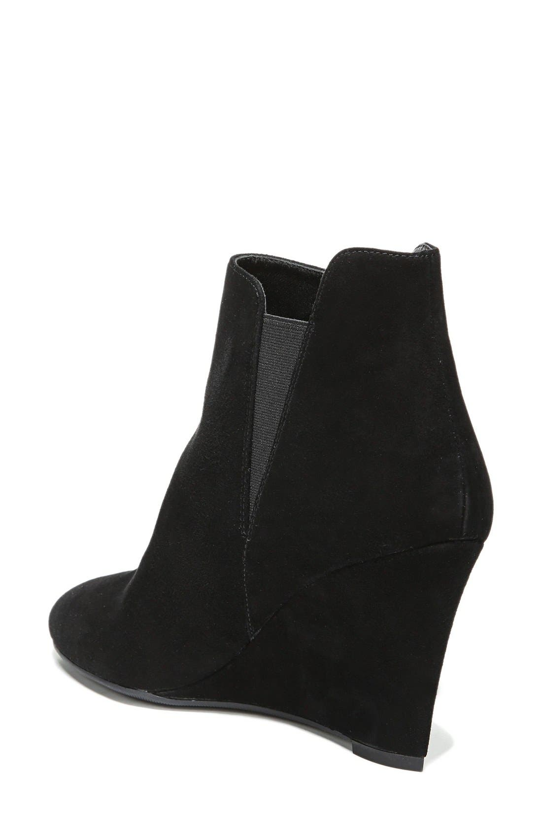 'Kenzie' Wedge Bootie,                             Alternate thumbnail 2, color,                             002