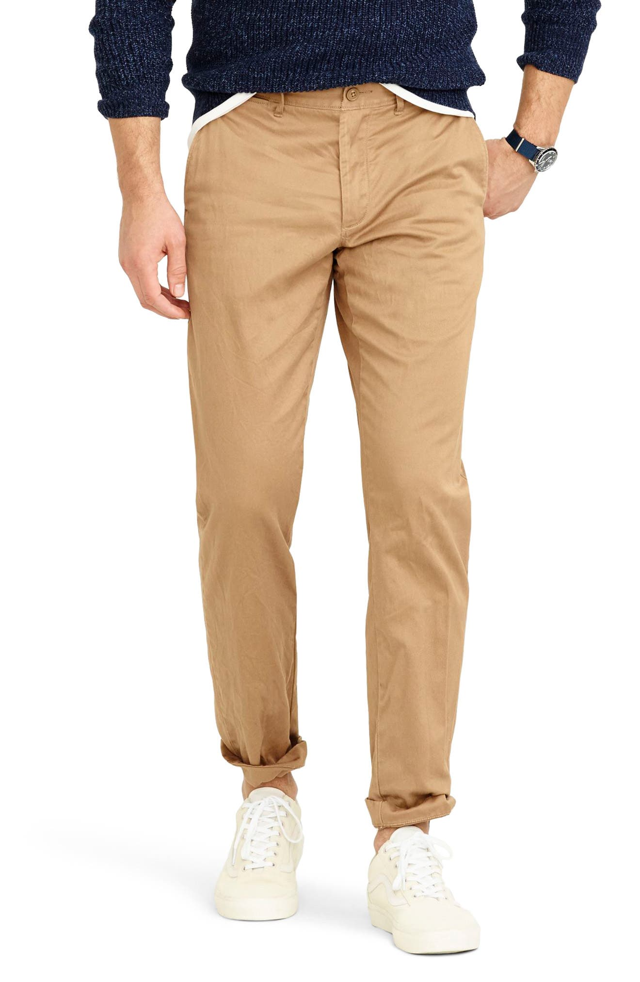 484 Slim Fit Stretch Chino Pants,                             Main thumbnail 6, color,