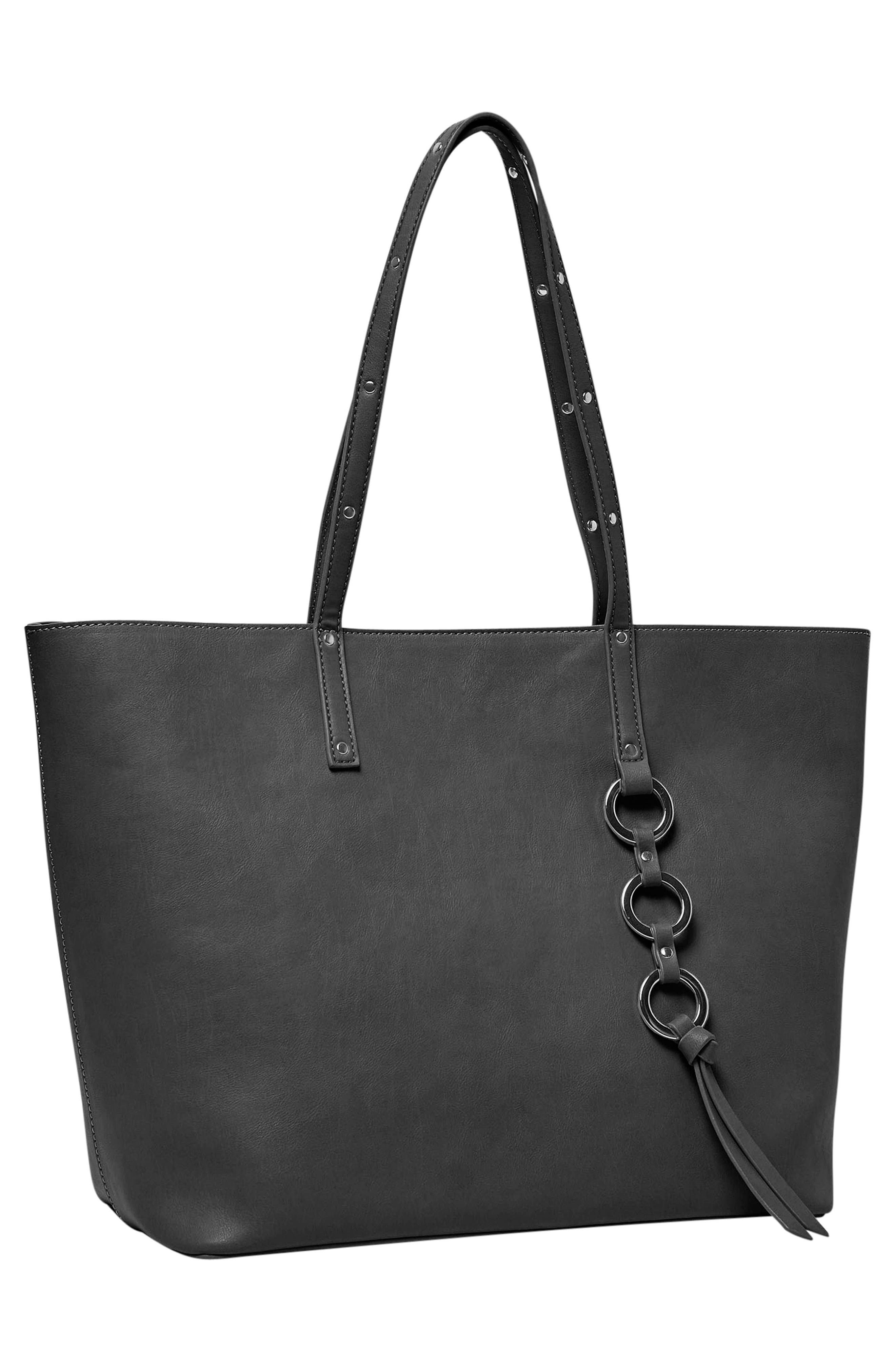 Wild Fire Vegan Leather Tote,                             Alternate thumbnail 10, color,