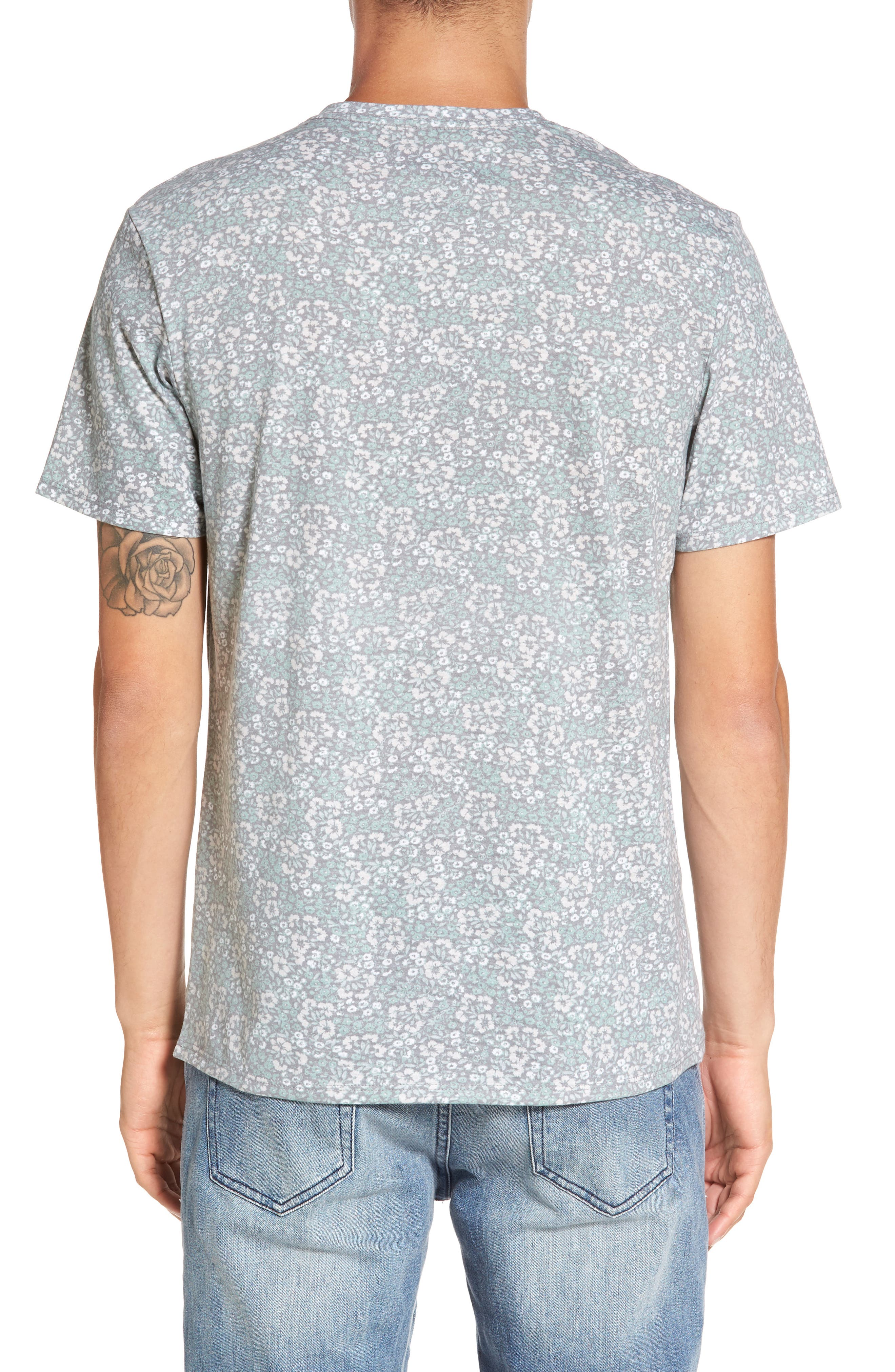 V-Neck T-Shirt,                             Alternate thumbnail 11, color,