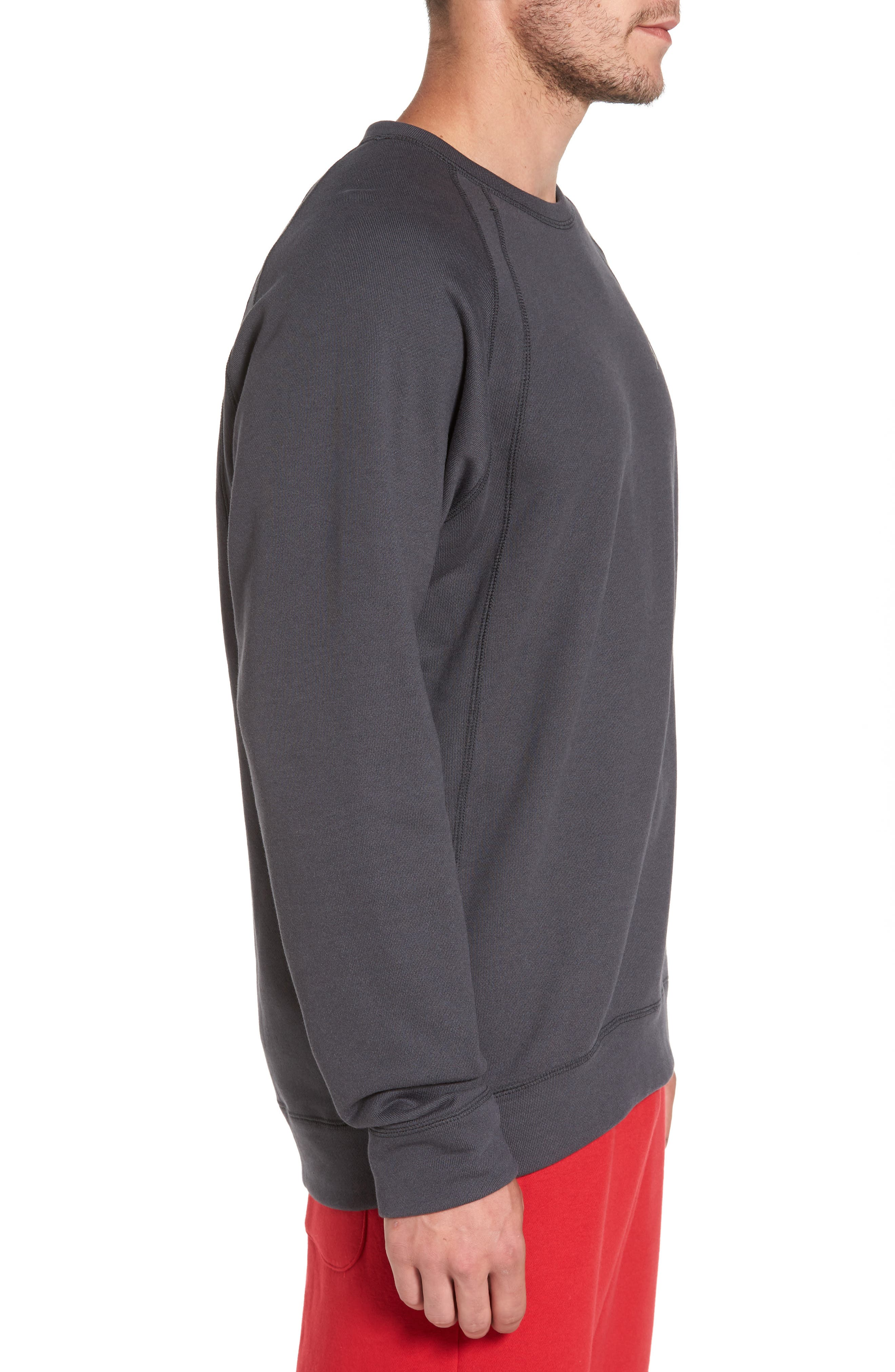Jordan Sportswear Wings Pullover,                             Alternate thumbnail 6, color,