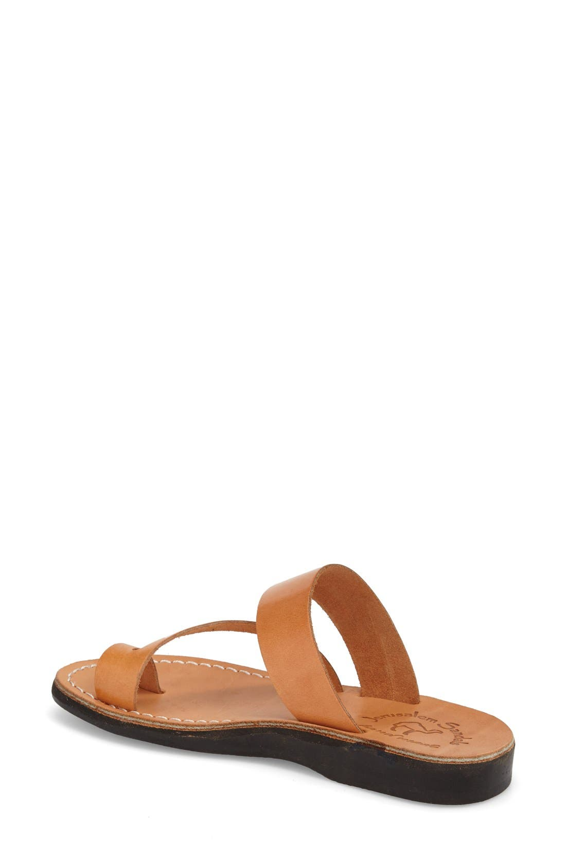'Zohar' Leather Sandal,                             Alternate thumbnail 7, color,