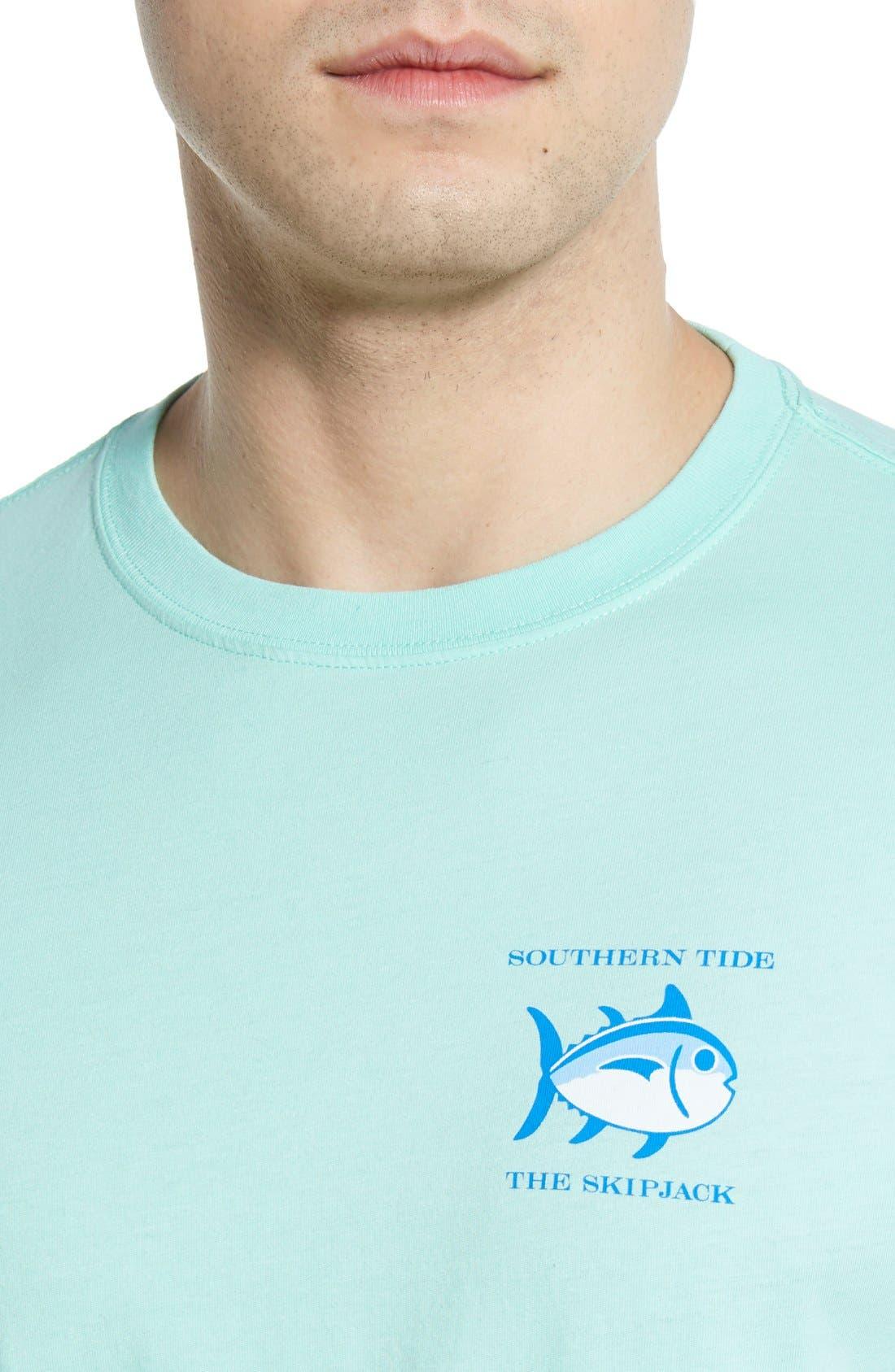 'Skipjack'Long Sleeve Graphic T-Shirt,                             Alternate thumbnail 27, color,