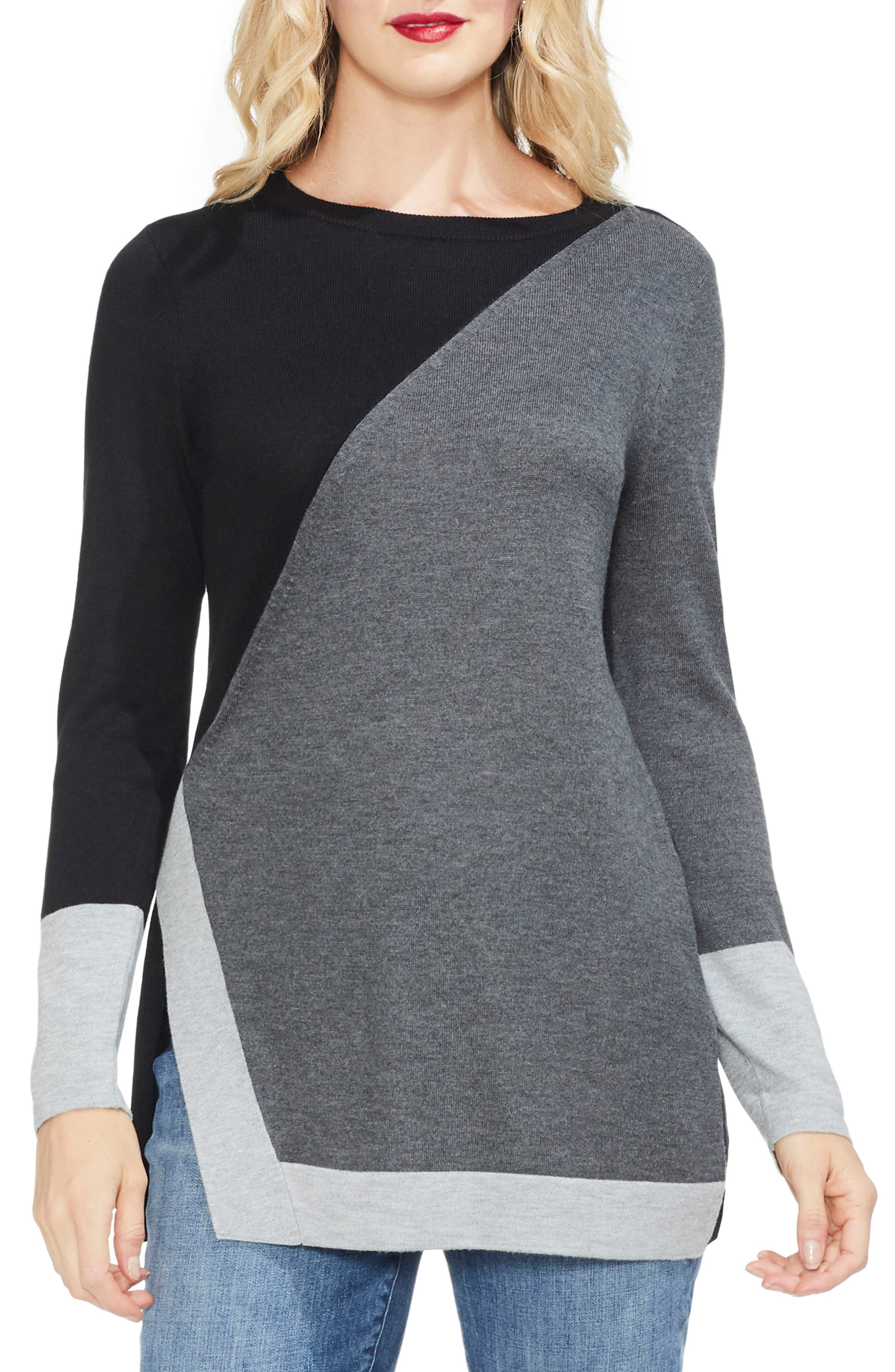 Colorblock Sweater,                             Main thumbnail 1, color,                             023