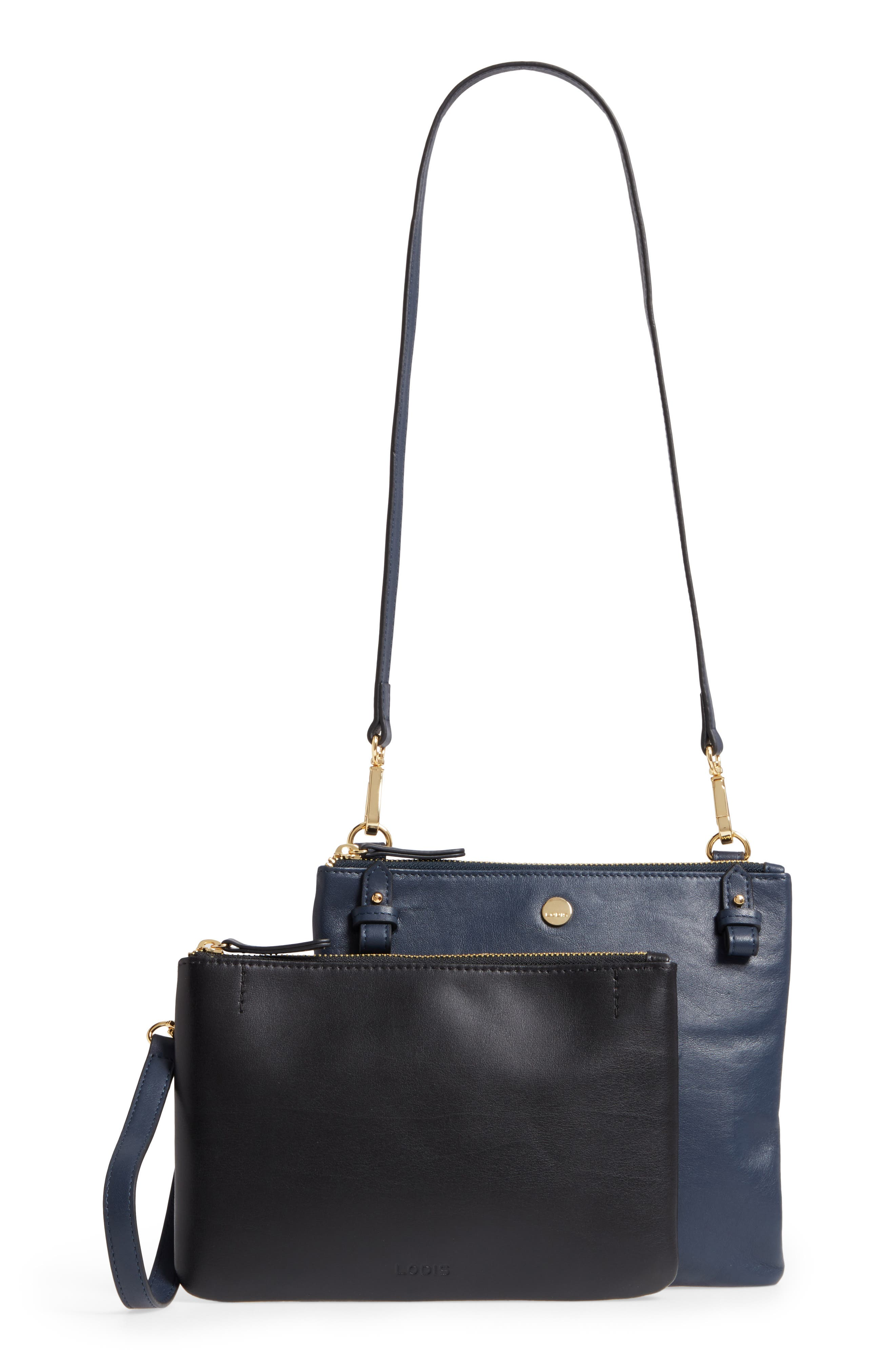 Downtown Latisha RFID Leather Crossbody,                             Alternate thumbnail 8, color,