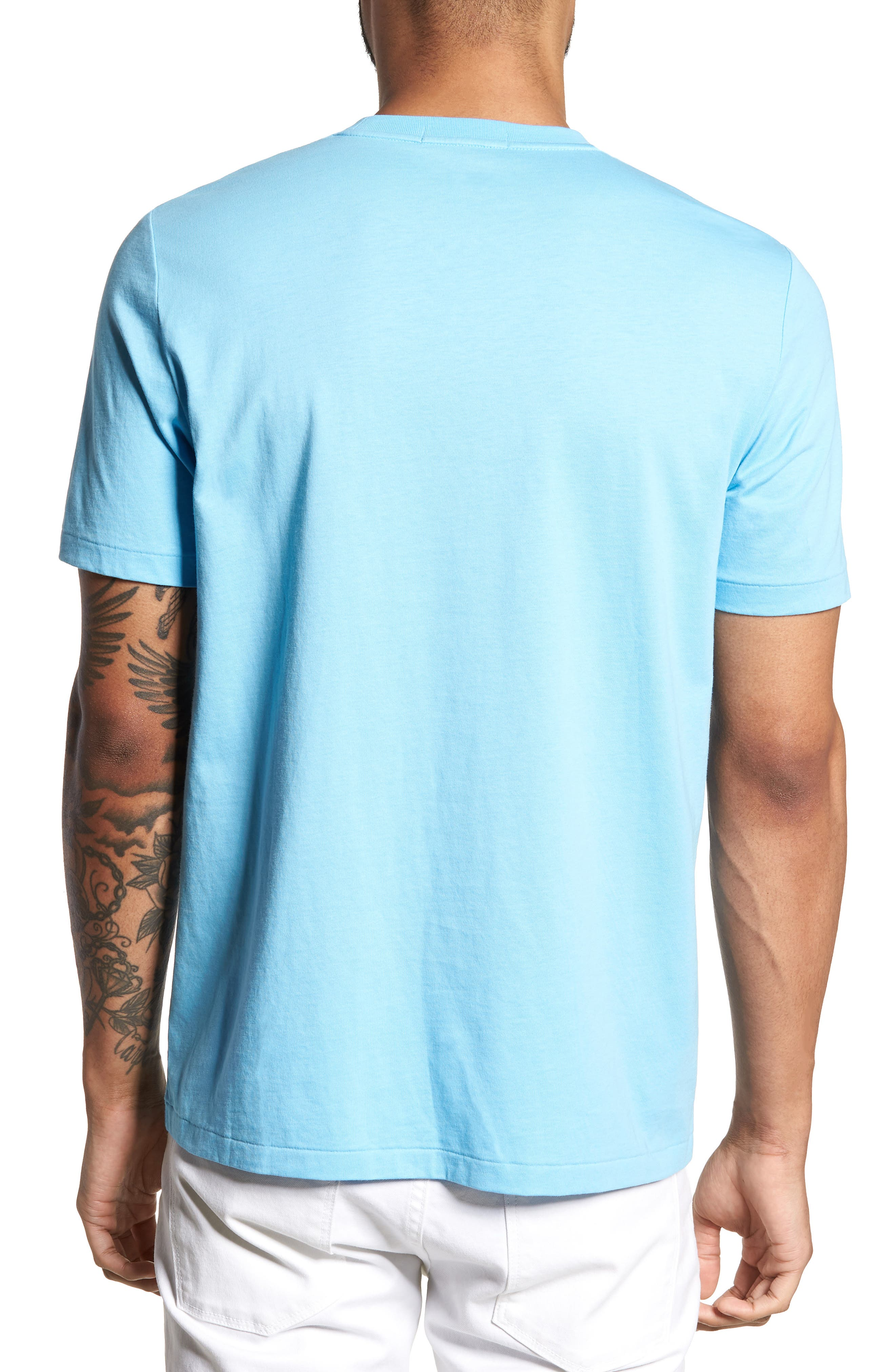 Embroidered T-Shirt,                             Alternate thumbnail 2, color,                             400