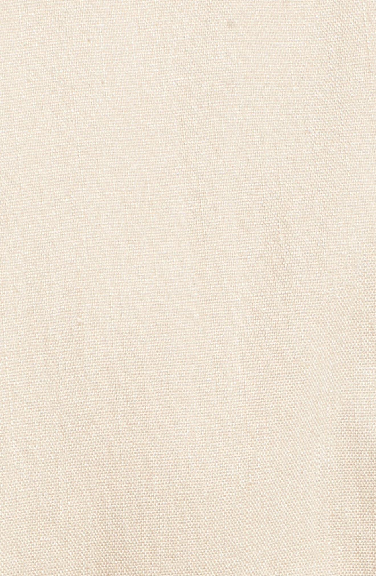 Double Breasted Linen Blend Blazer,                             Alternate thumbnail 28, color,