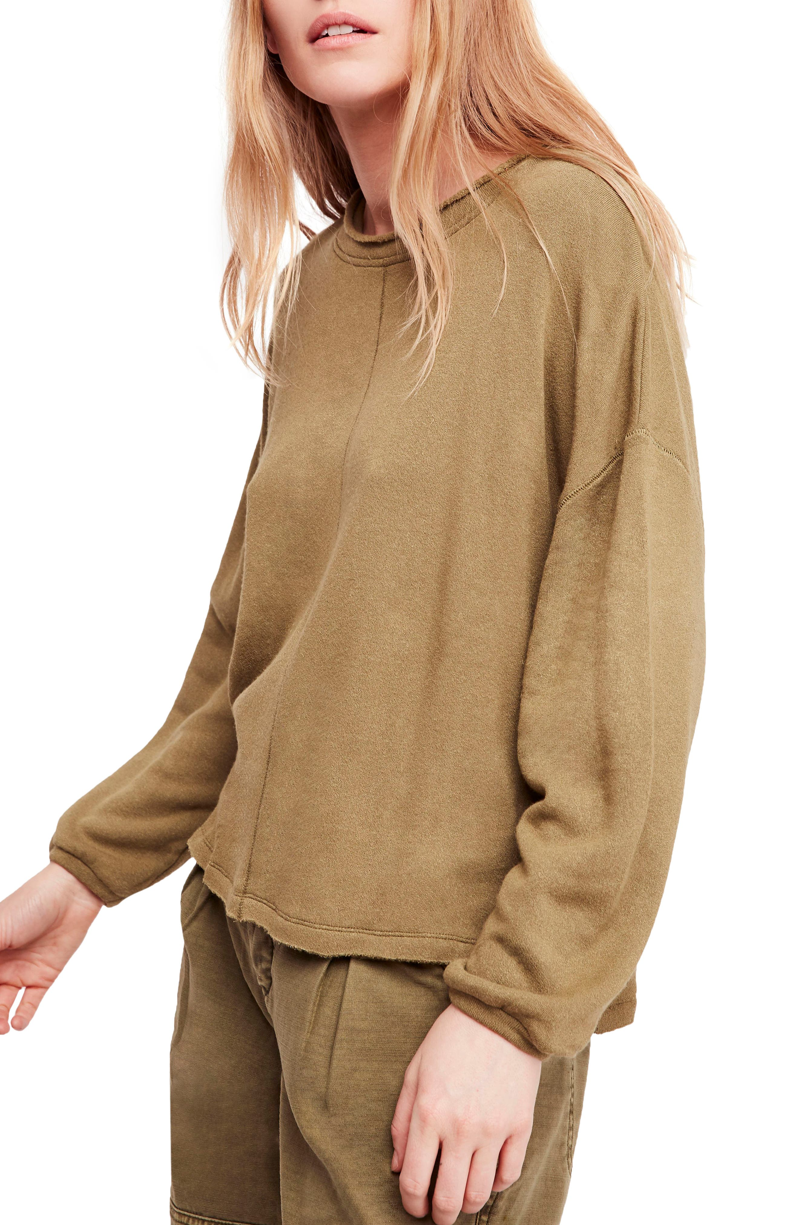 Be Good Terry Pullover,                         Main,                         color, 303