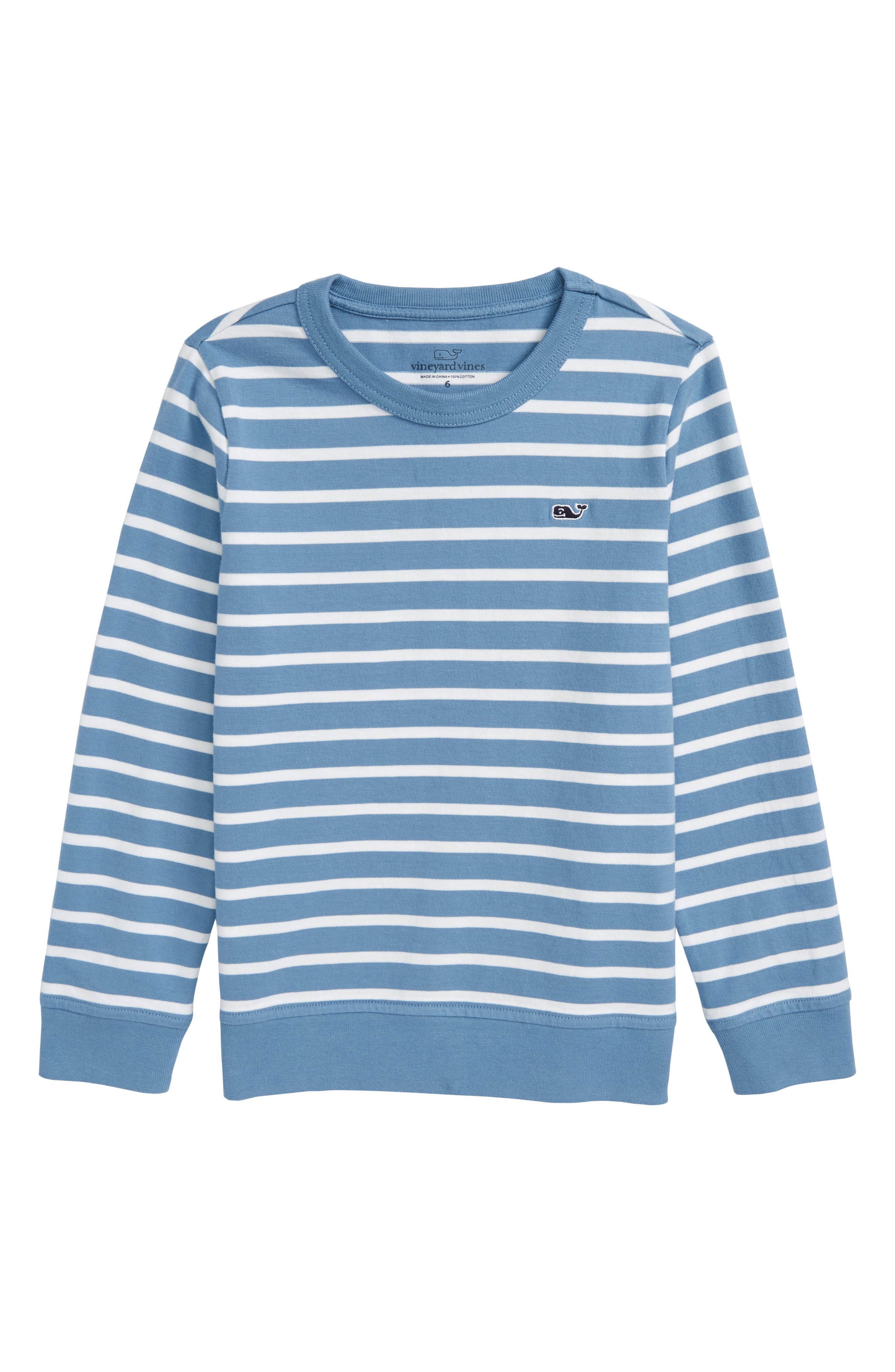 Stripe Crewneck Sweater,                             Main thumbnail 1, color,                             477