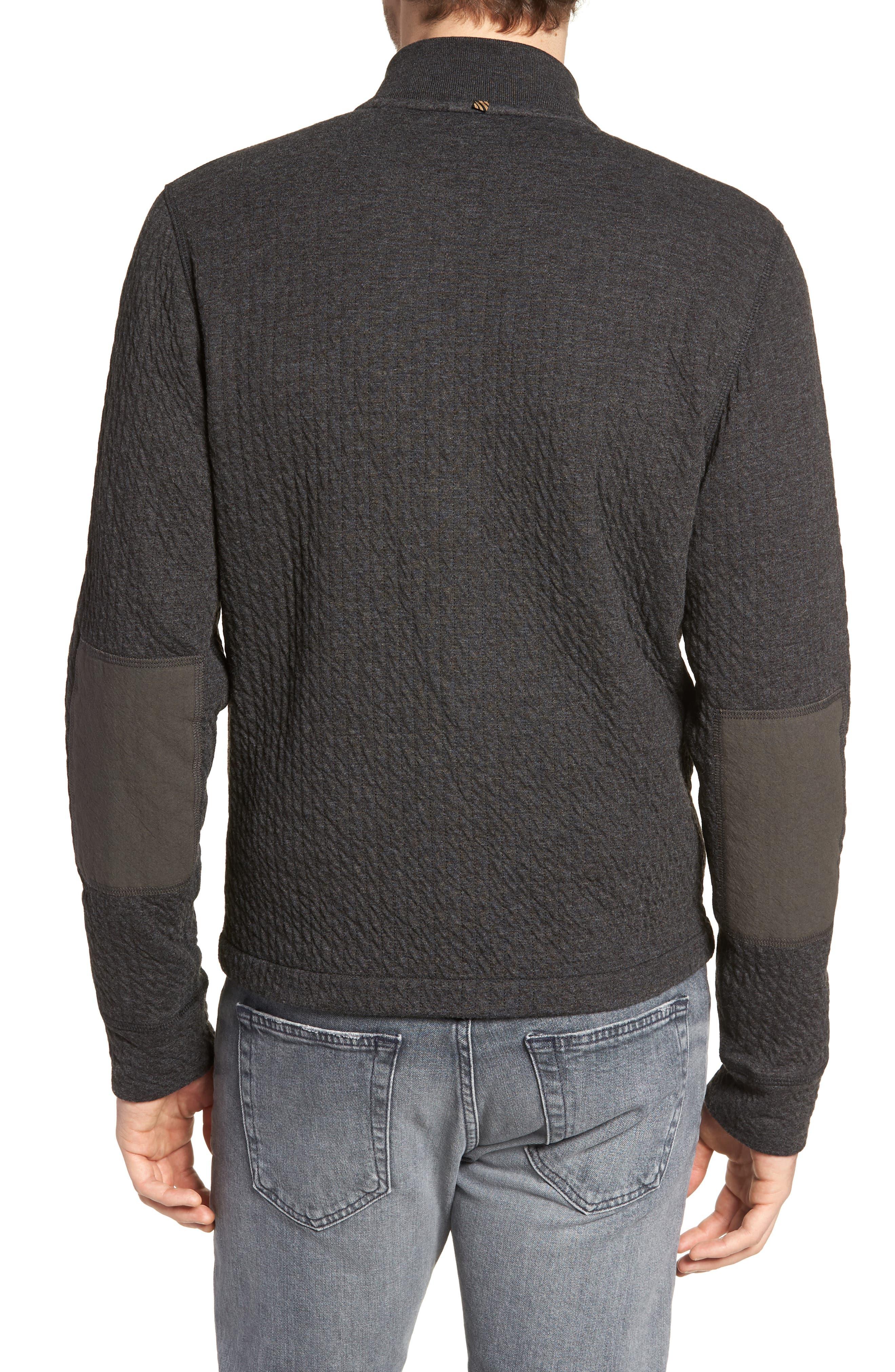 Giles Slim Fit Zip-Up Sweatshirt,                             Alternate thumbnail 2, color,                             402