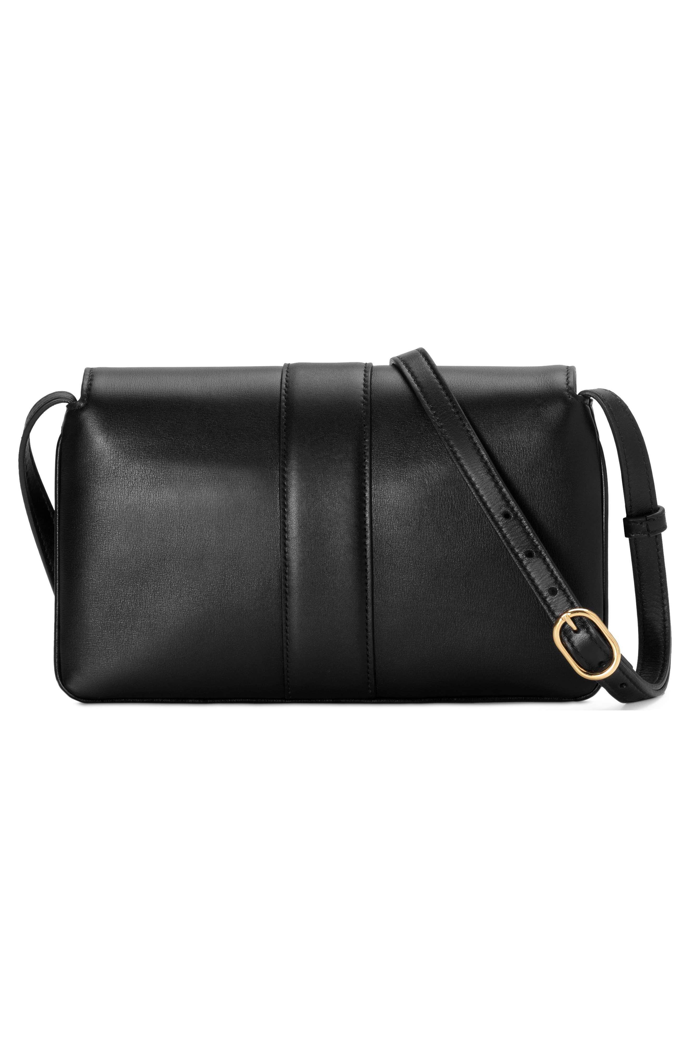Small Arli Convertible Shoulder Bag,                             Alternate thumbnail 2, color,                             NERO