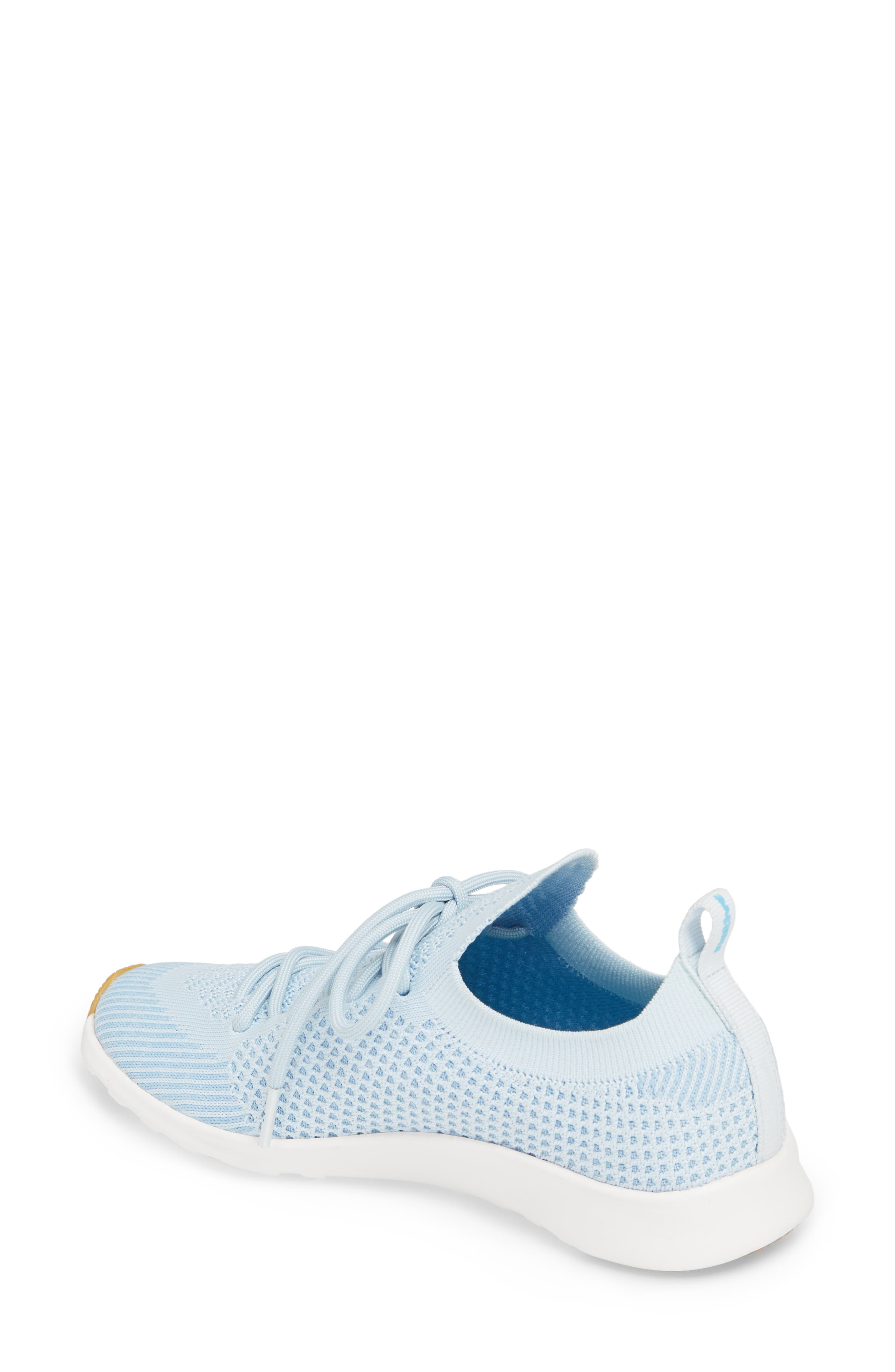 AP Mercury Liteknit Sneaker,                             Alternate thumbnail 2, color,                             AIR BLUE/ SHELL WHITE/ NATURAL