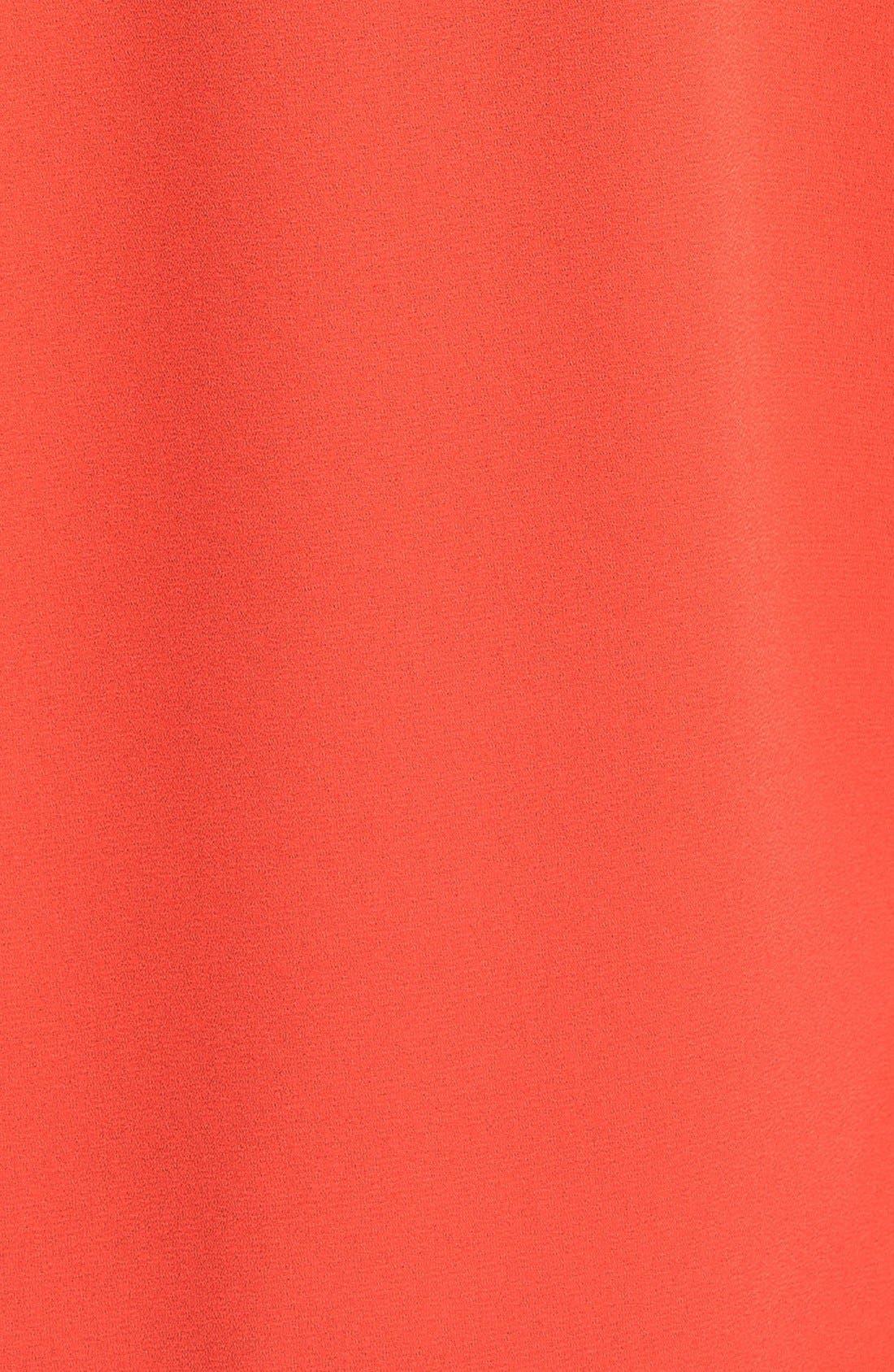 Cuff Sleeve Woven Tee,                             Alternate thumbnail 107, color,