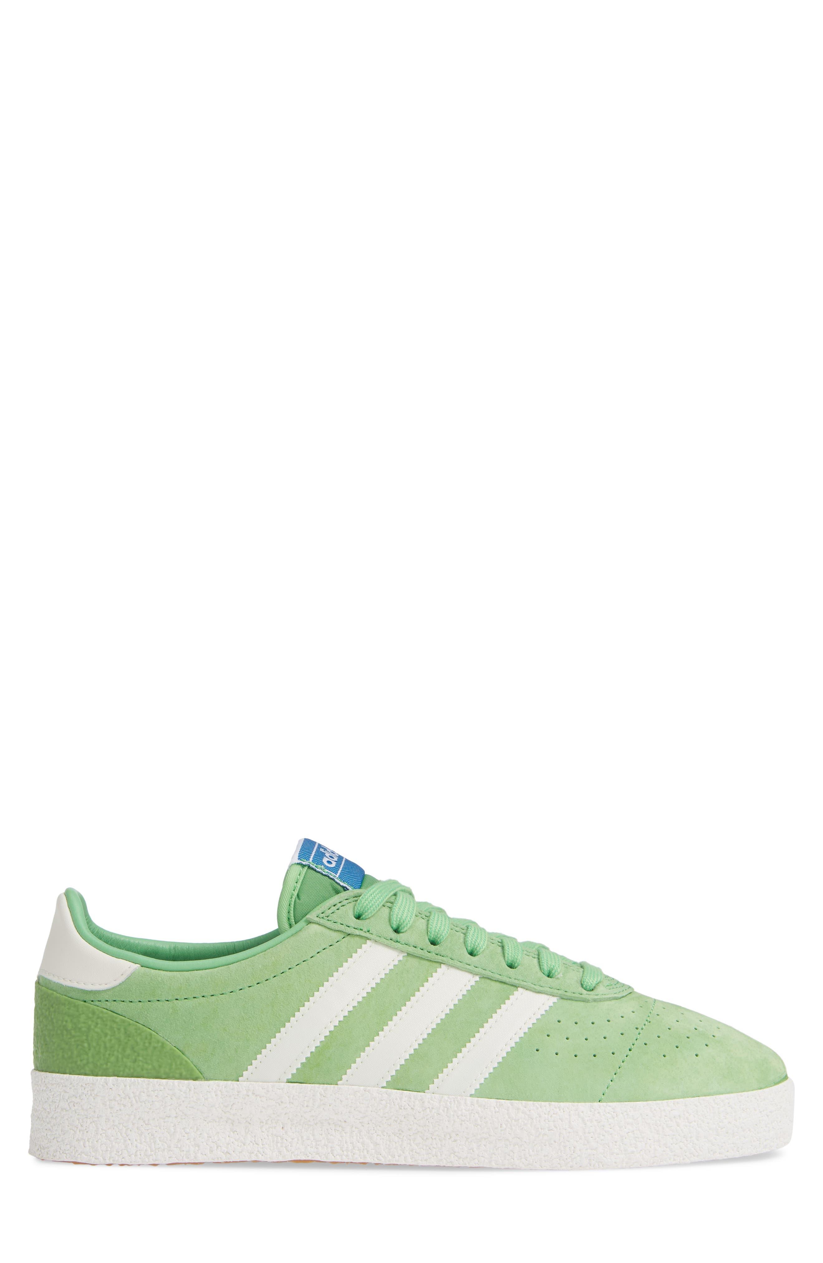 München Super Spezial Sneaker,                             Alternate thumbnail 3, color,                             INTENSE GREEN/ OFF WHITE