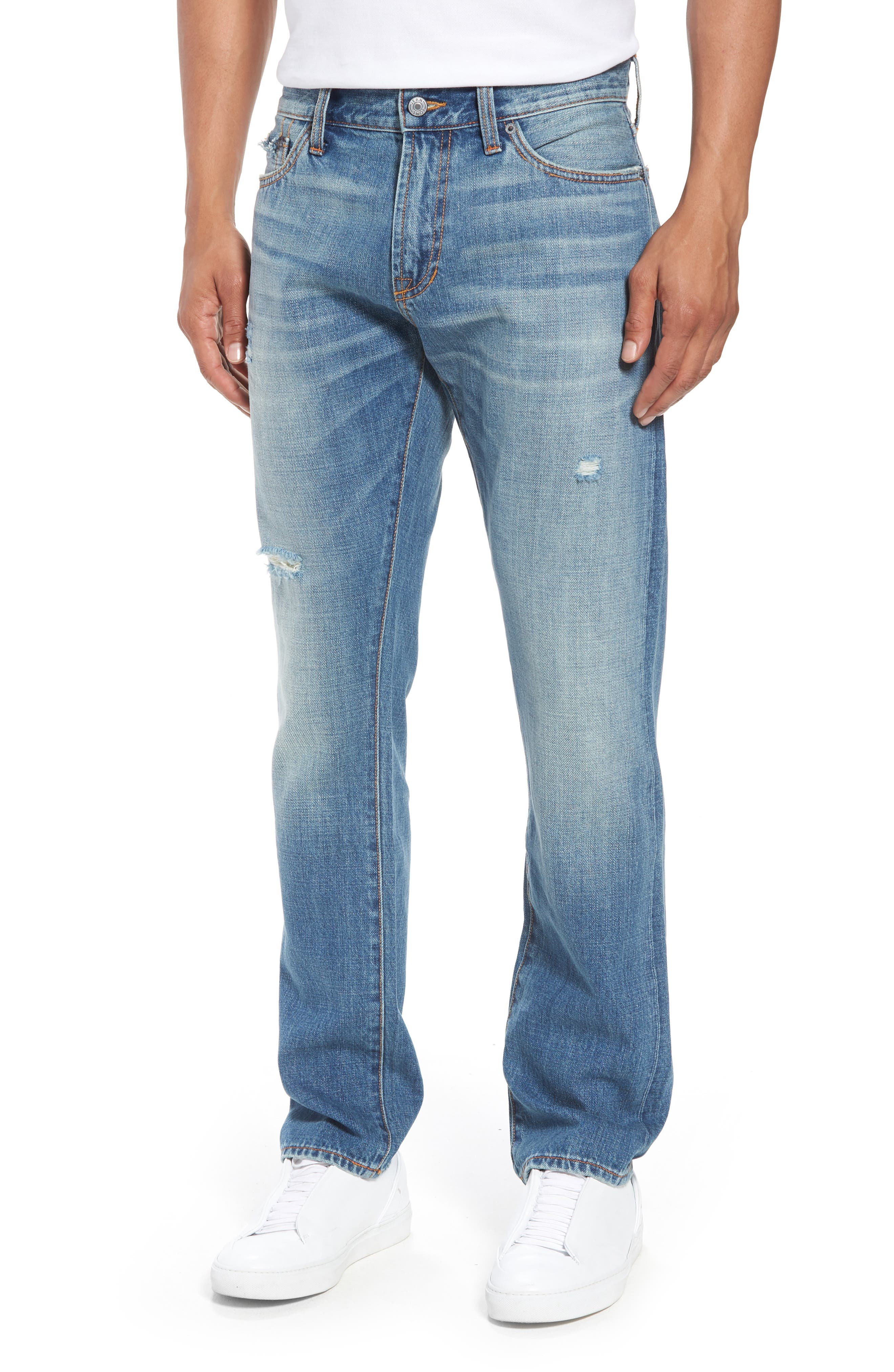 Mick Slim Straight Leg Jeans,                         Main,                         color, 400