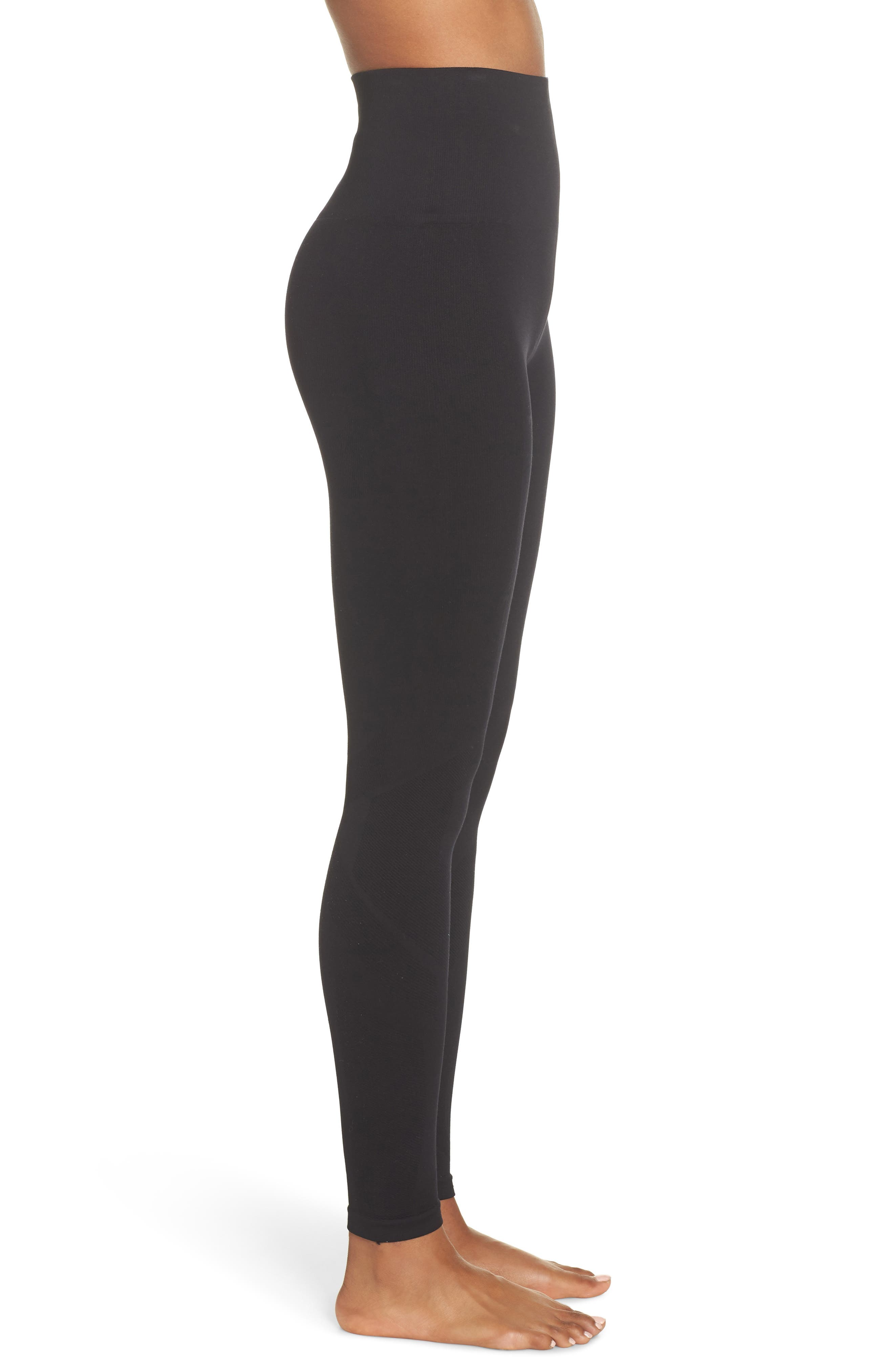 Eight Eight High Waist Leggings,                             Alternate thumbnail 3, color,                             EIGHT EIGHT LEGGNG BLACK