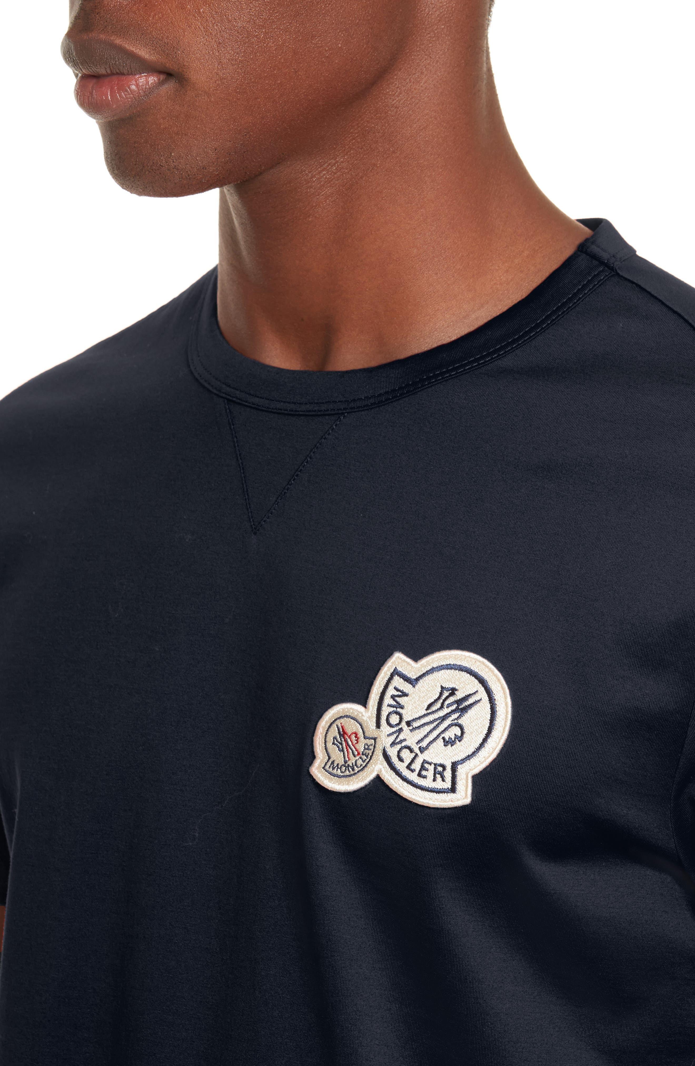 Patch T-Shirt,                             Alternate thumbnail 4, color,                             NAVY