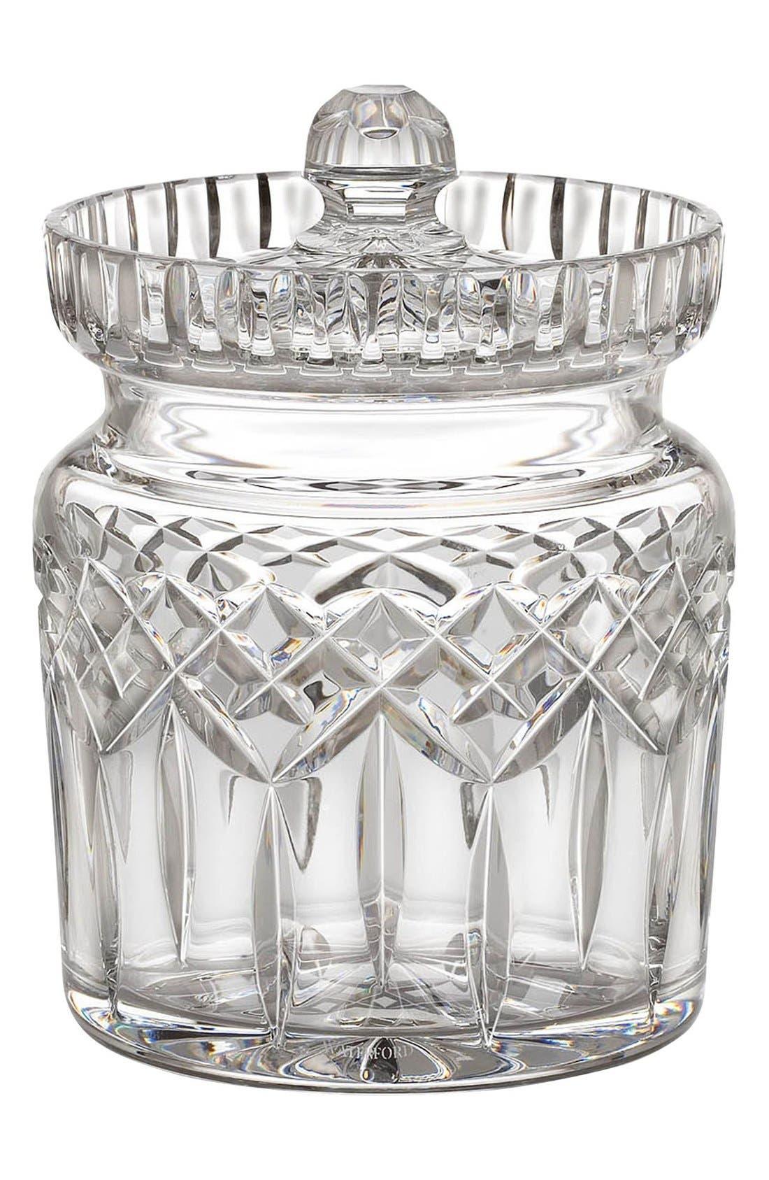 'Lismore' Lead Crystal Cookie Jar,                             Main thumbnail 1, color,                             100