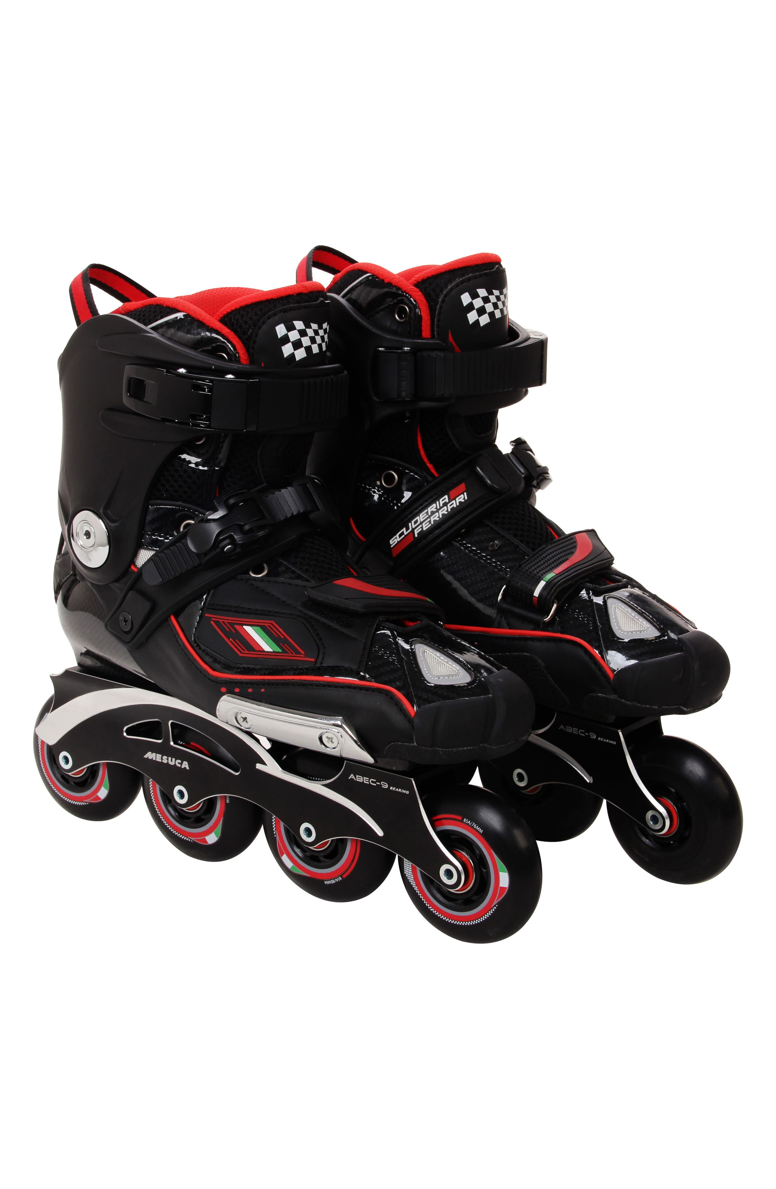 Carbon Fiber KS-T Inline Skates,                             Main thumbnail 1, color,                             BLACK