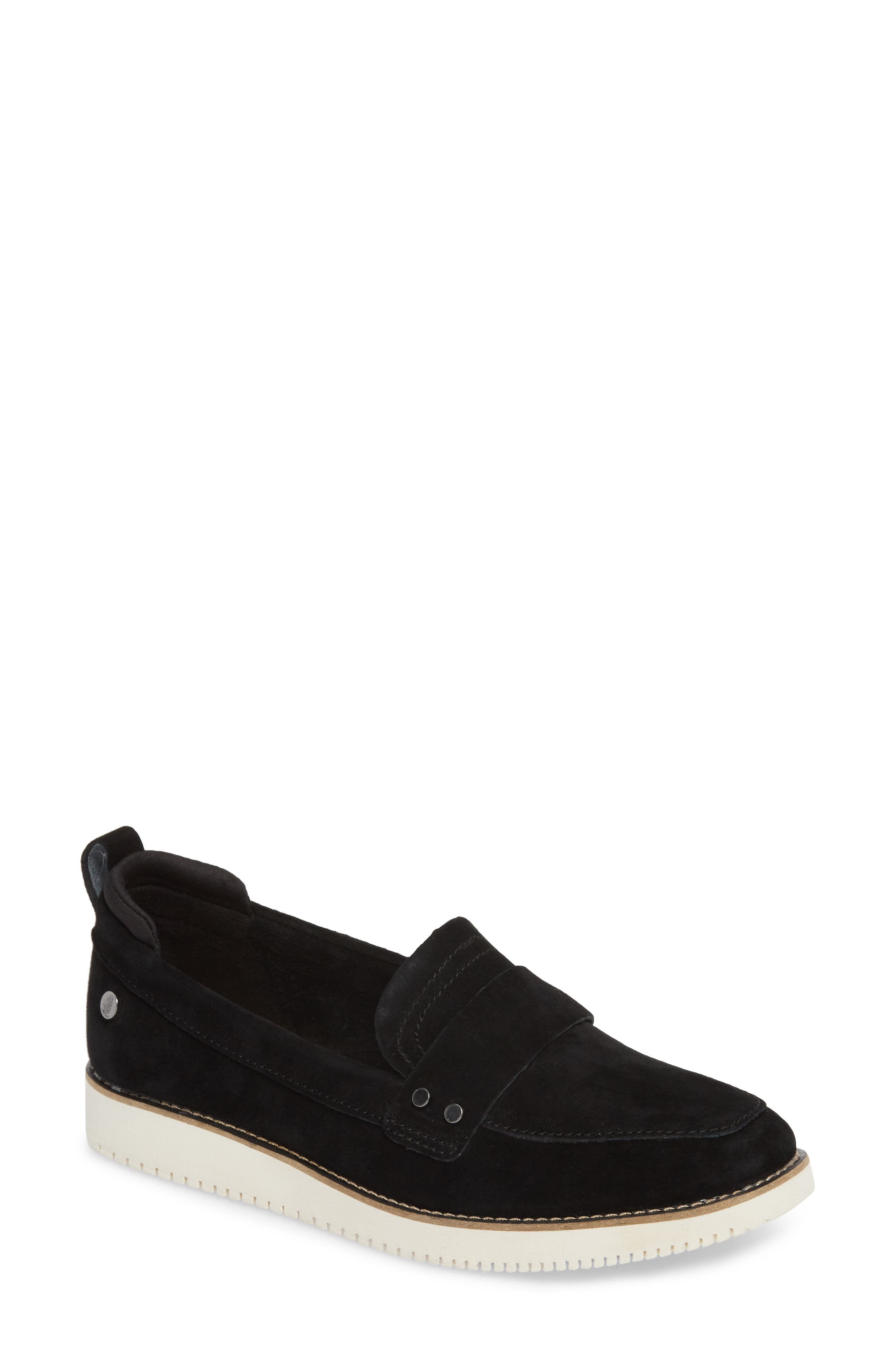 HUSH PUPPIES<SUP>®</SUP>,                             Chowchow Loafer,                             Main thumbnail 1, color,                             001