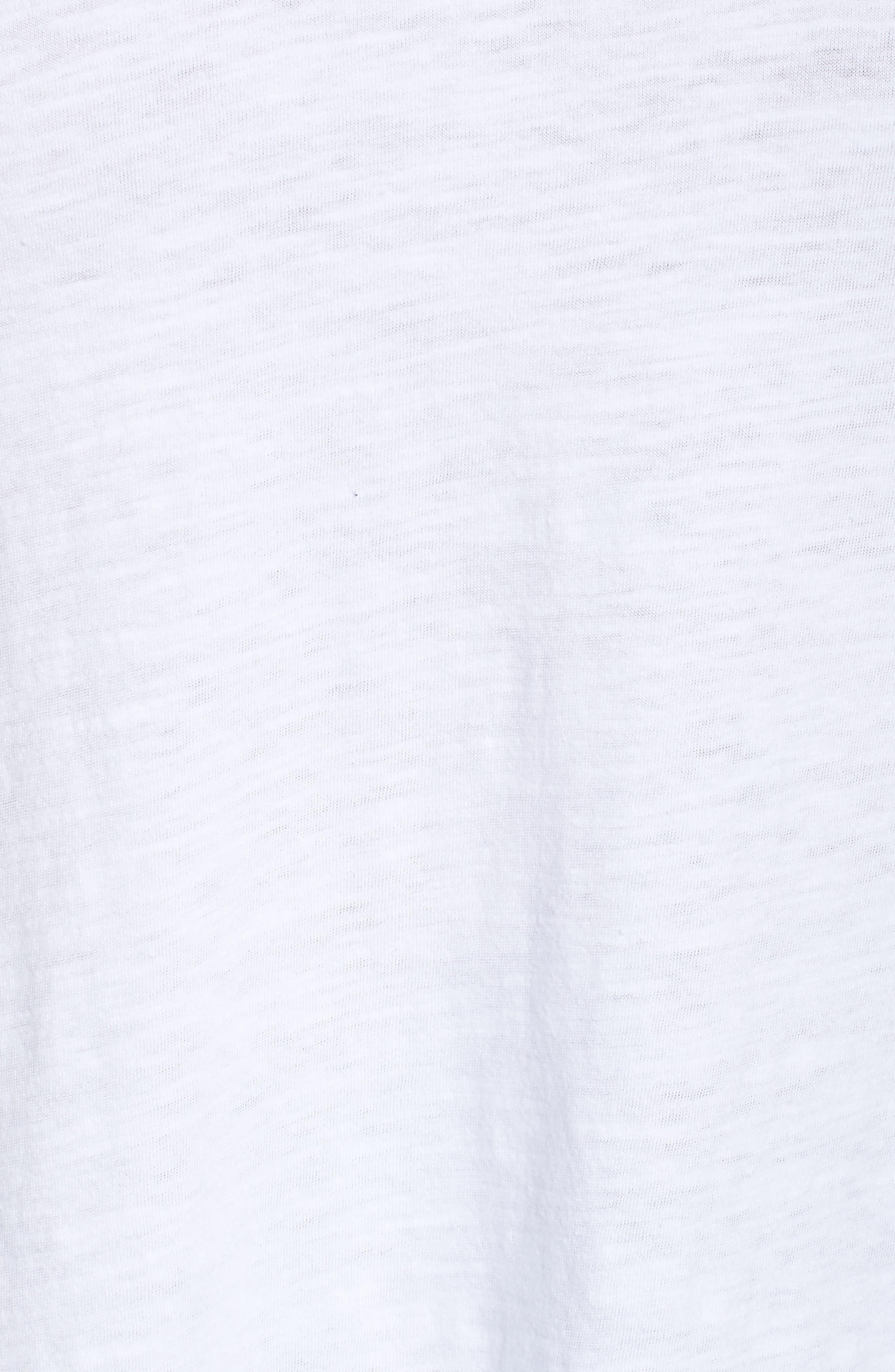Organic Cotton V-Neck Top,                             Alternate thumbnail 30, color,