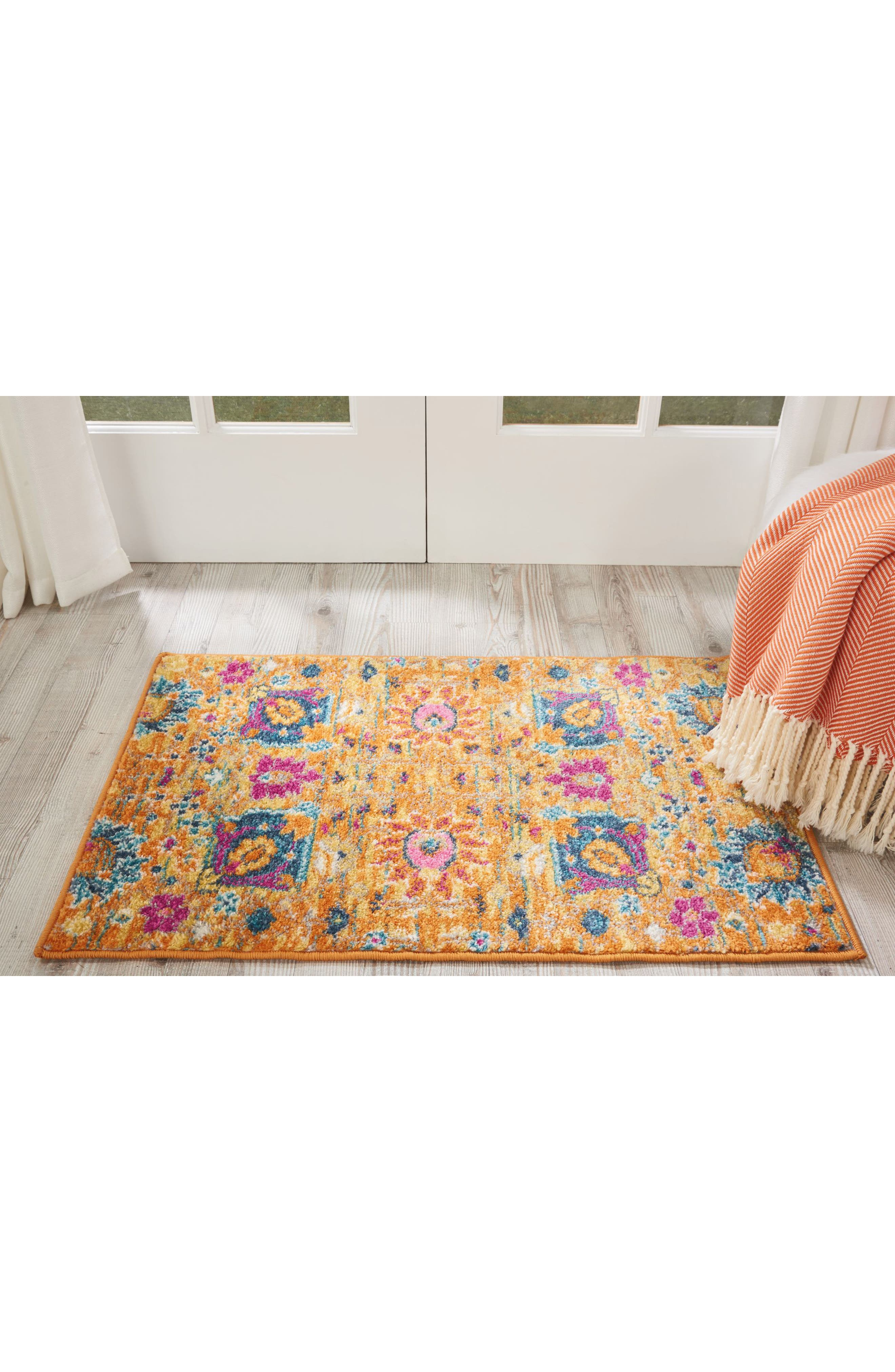 Sunburst Rug,                             Alternate thumbnail 8, color,                             800