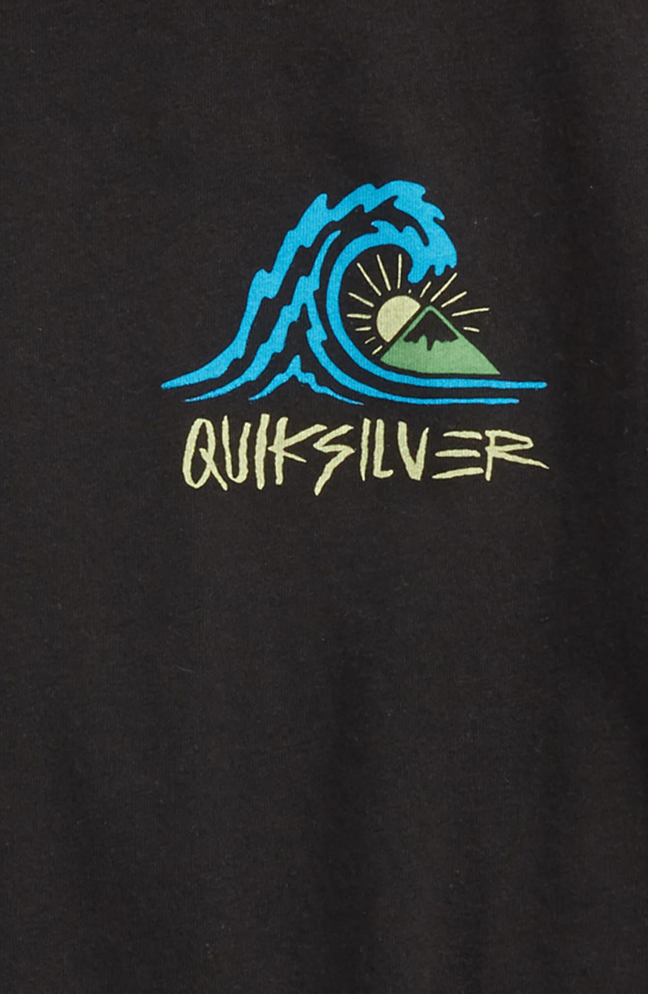 Quik Start Graphic T-Shirt,                             Alternate thumbnail 3, color,                             002