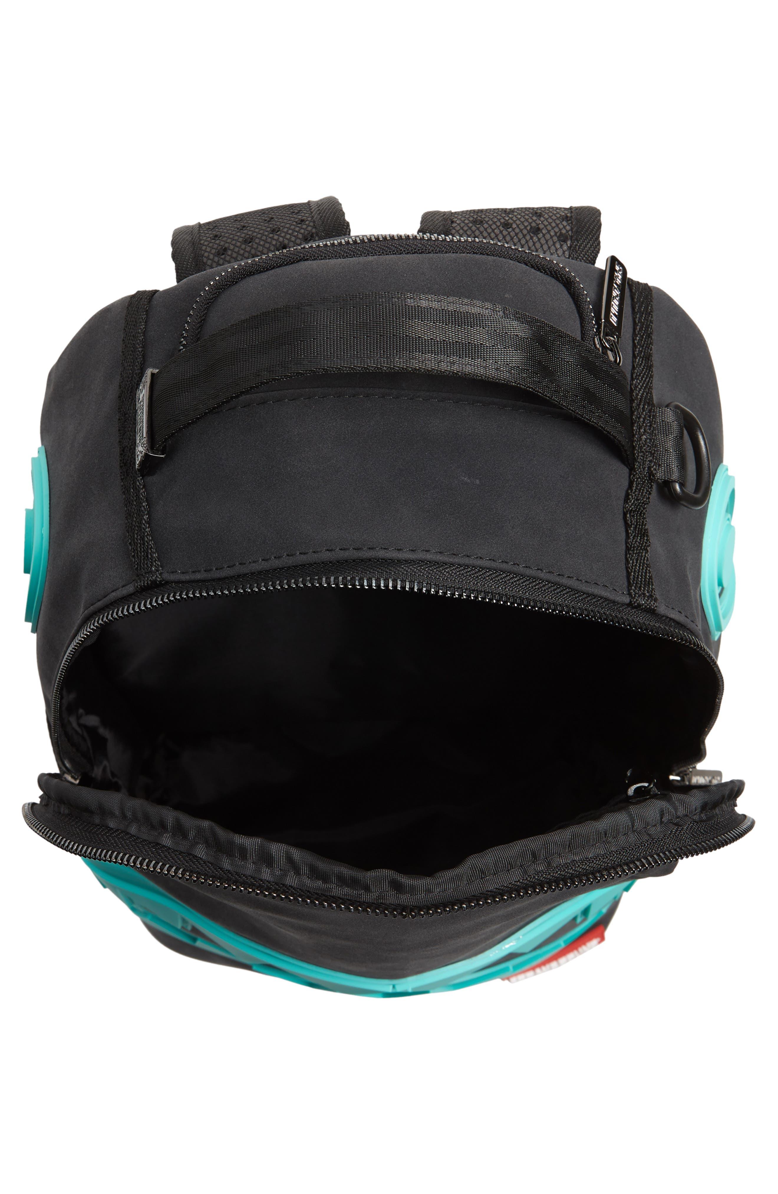 Tiff Shark Backpack,                             Alternate thumbnail 4, color,