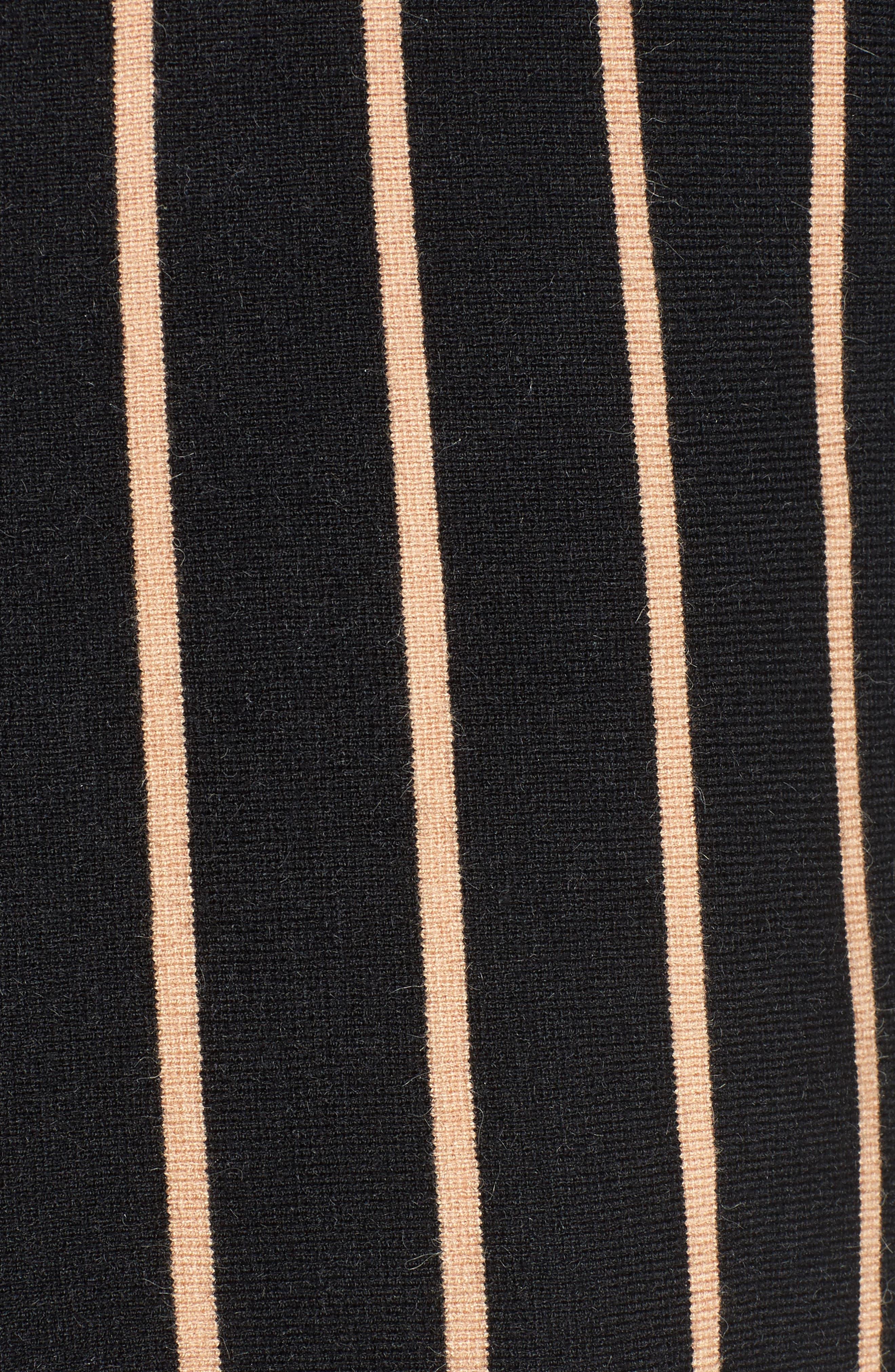 Split Cuff Sweater,                             Alternate thumbnail 5, color,                             001