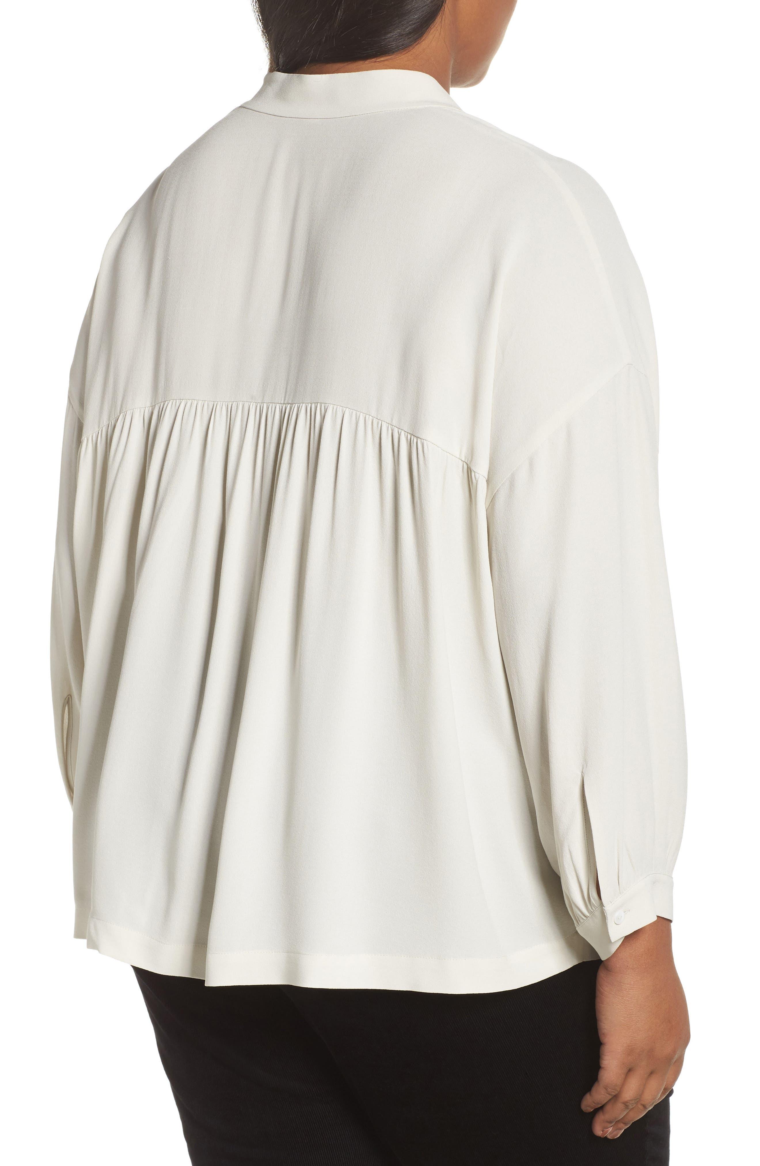 Silk Shirt,                             Alternate thumbnail 2, color,                             907
