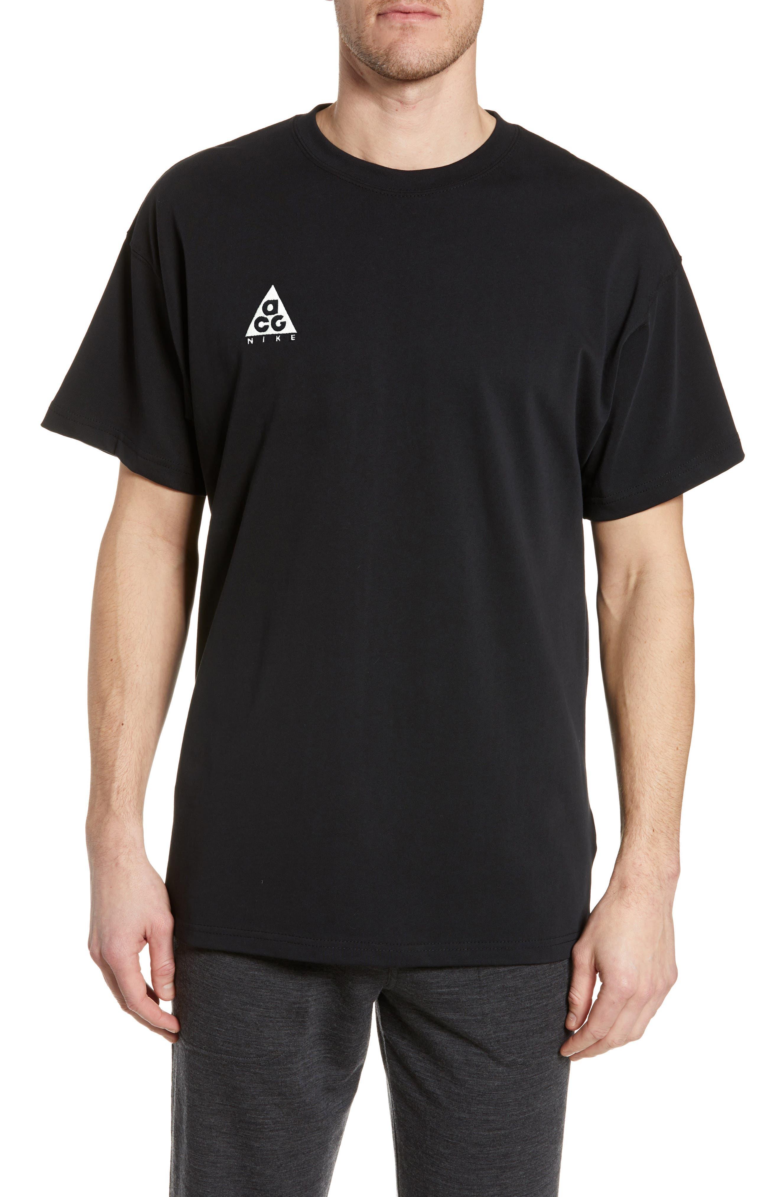Nike Nrg All Conditions Gear Logo T-Shirt, Black
